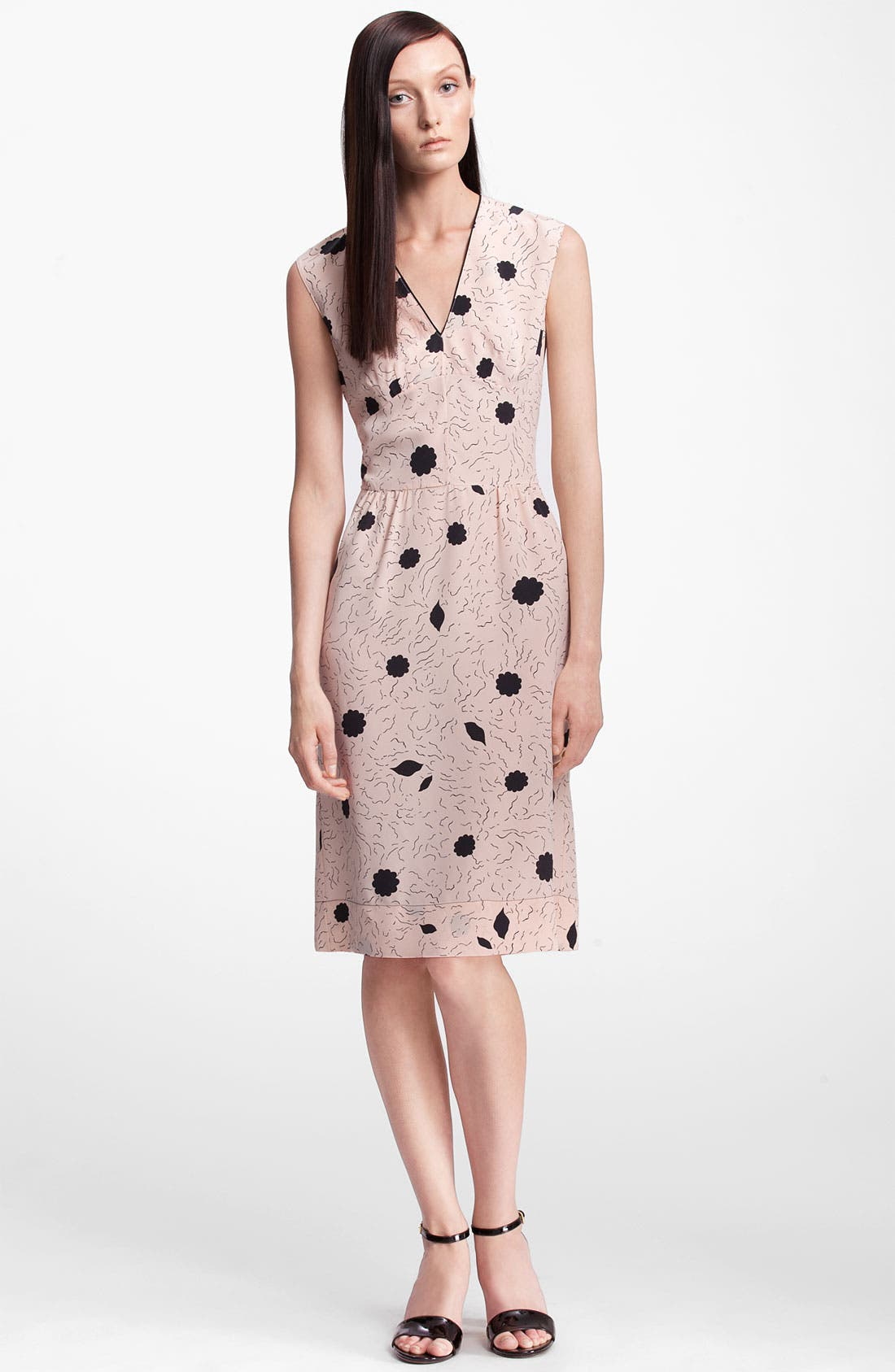 Alternate Image 1 Selected - Marni Print Silk Dress