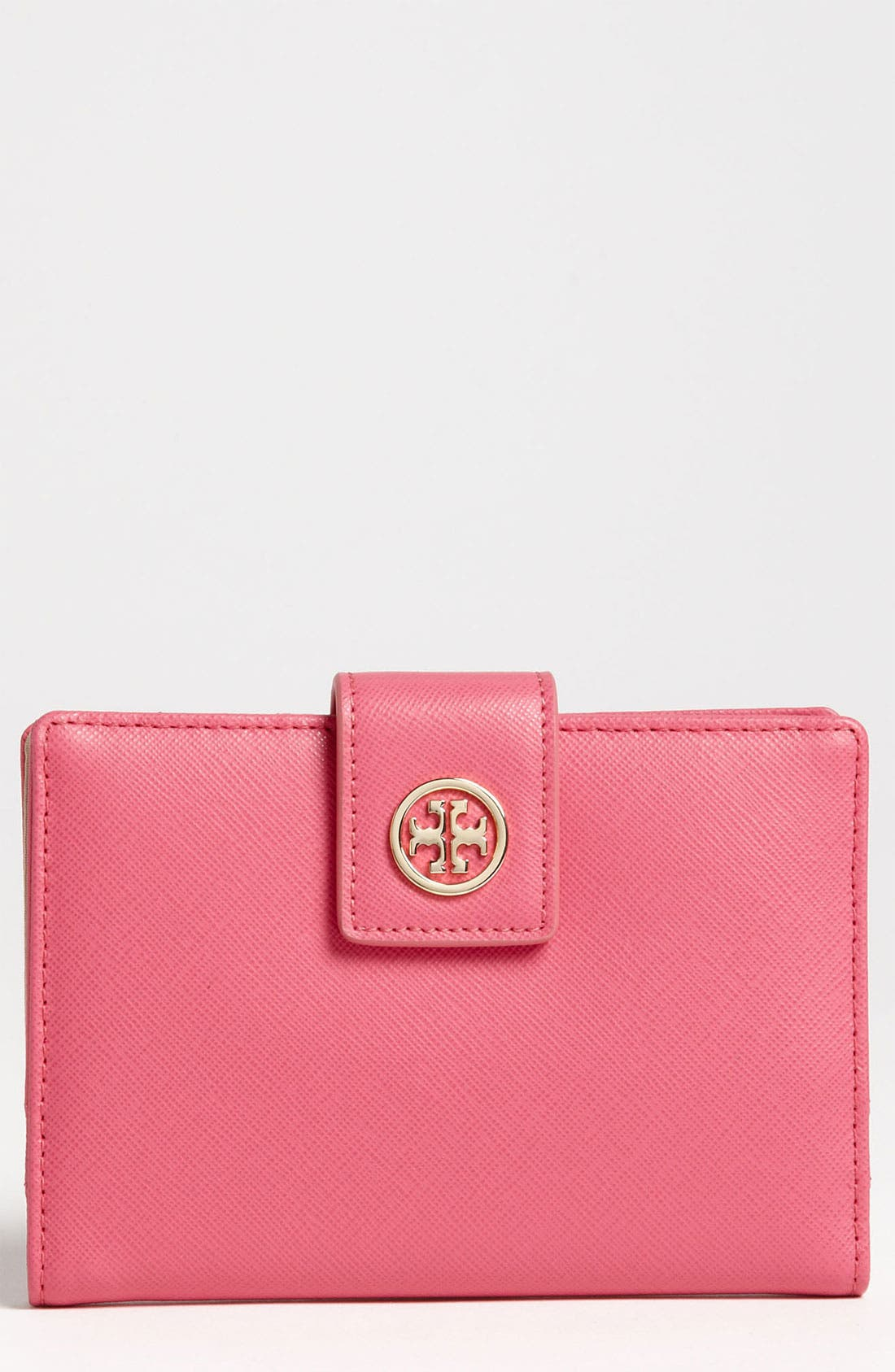 Alternate Image 1 Selected - Tory Burch 'Robinson' Passport Holder