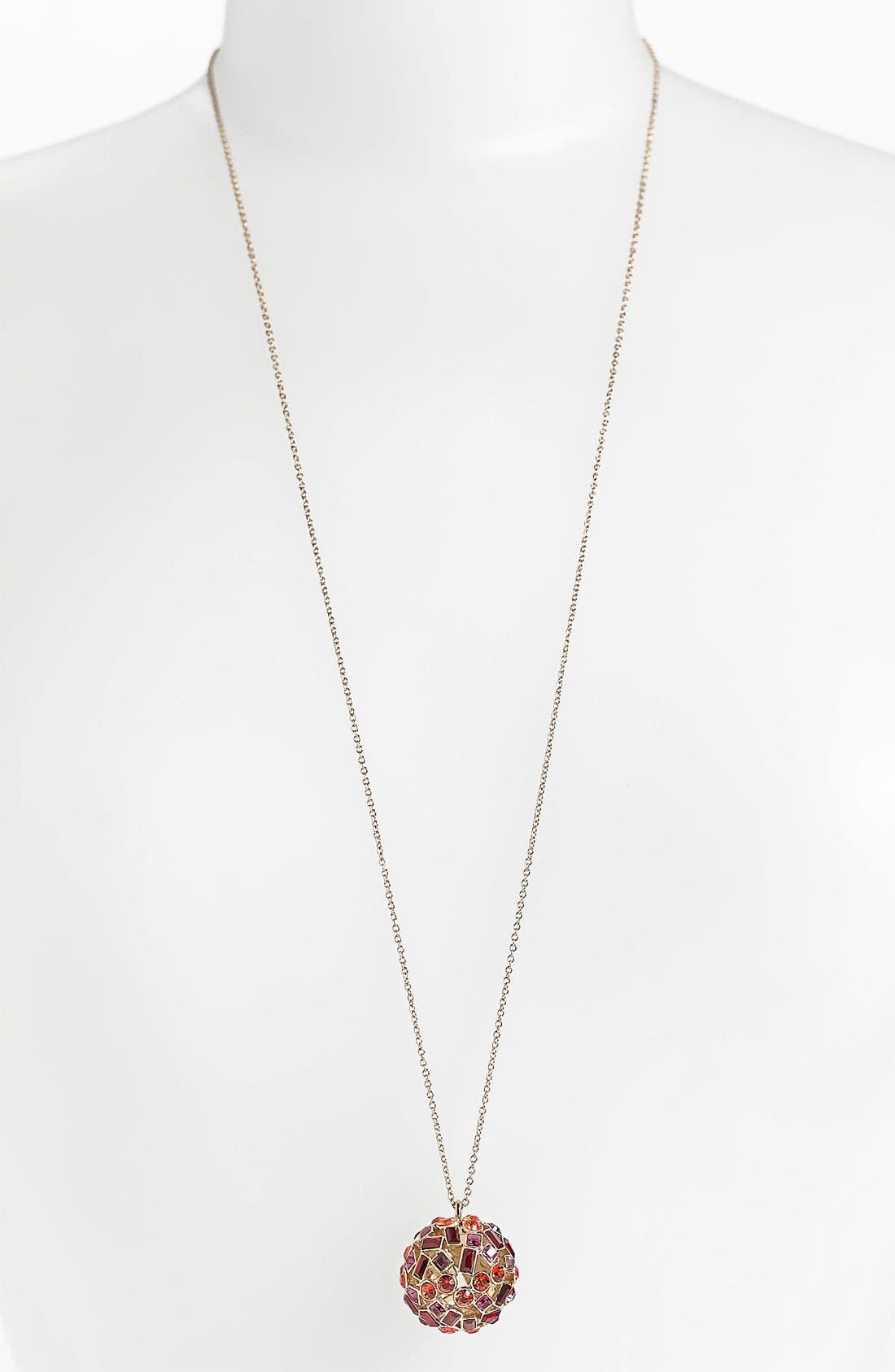 Main Image - kate spade new york 'kaleidoball' pendant necklace