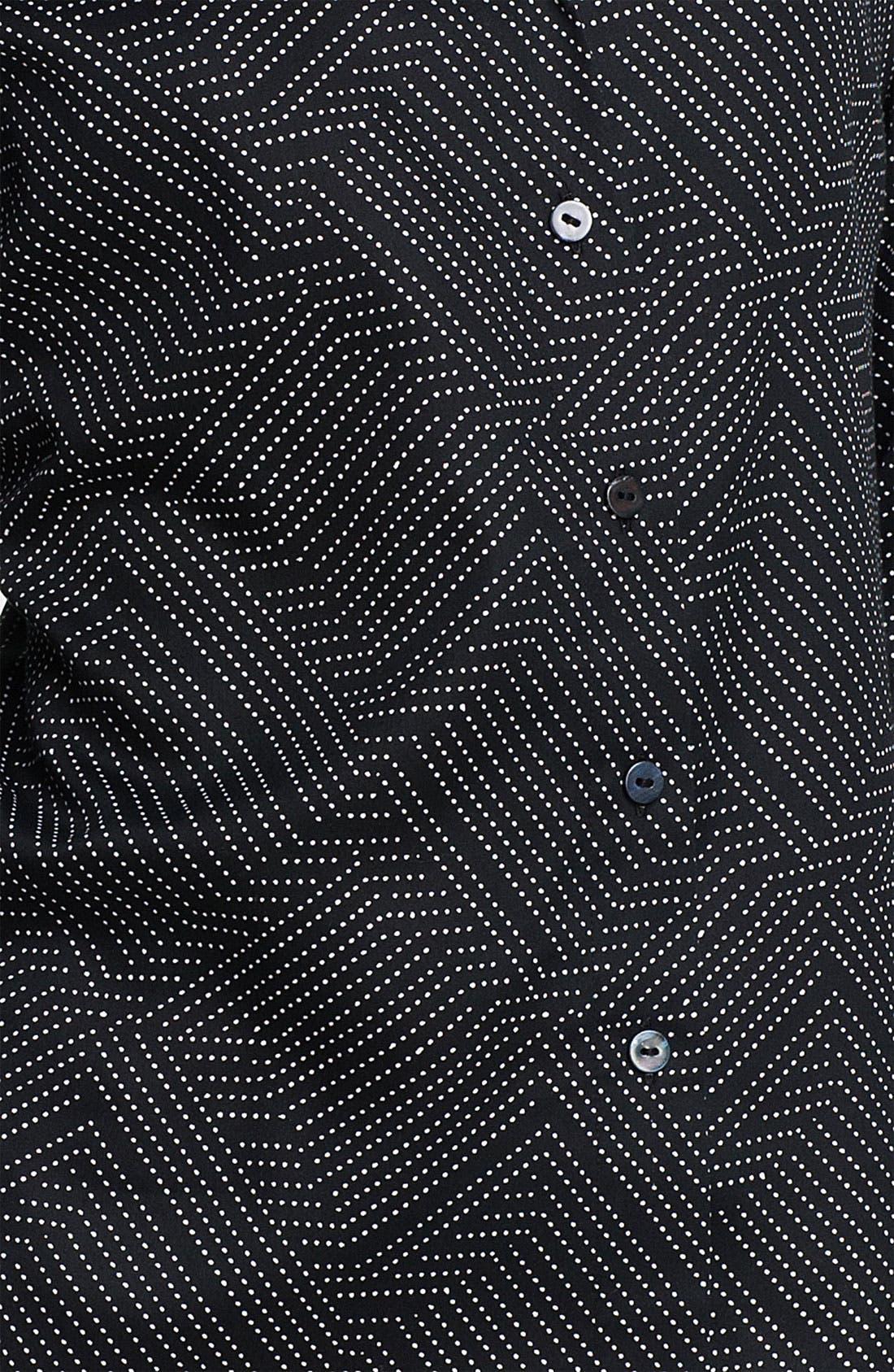 Alternate Image 3  - Foxcroft Geometric Dot Shirt