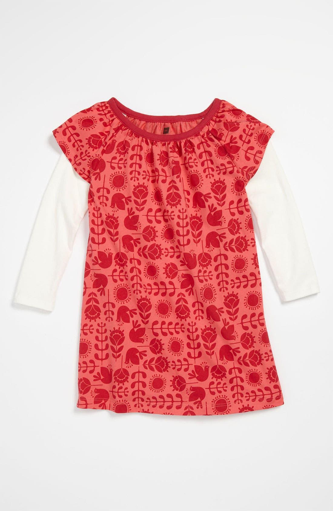 Main Image - Tea Collection 'Swedish Lark' Dress (Toddler)