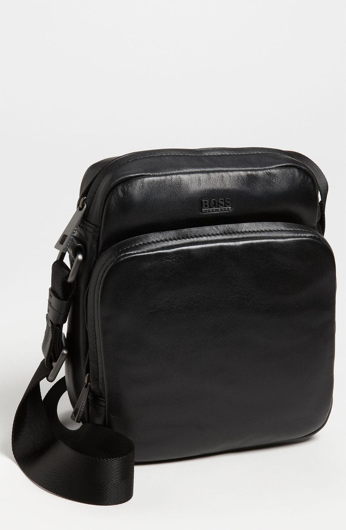 Alternate Image 1 Selected - BOSS Black 'Kunsty' Messenger Bag