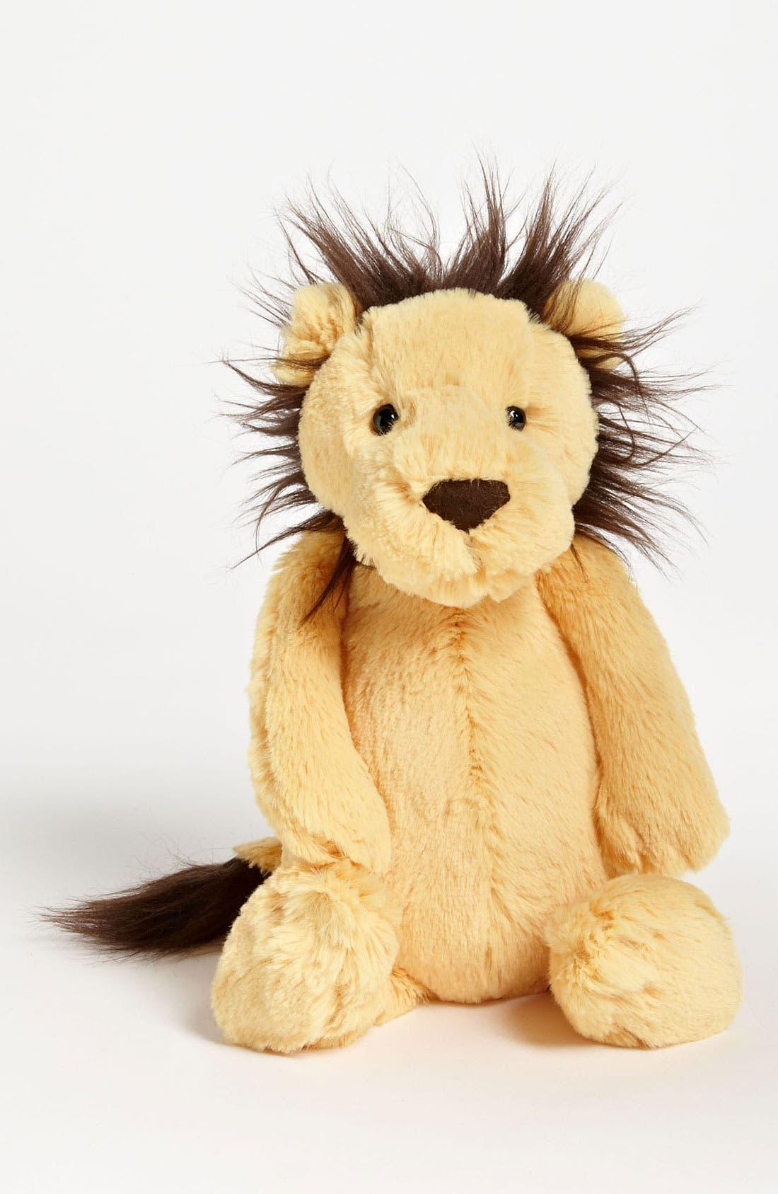 Alternate Image 1 Selected - Jellycat 'Bashful Lion' Stuffed Animal