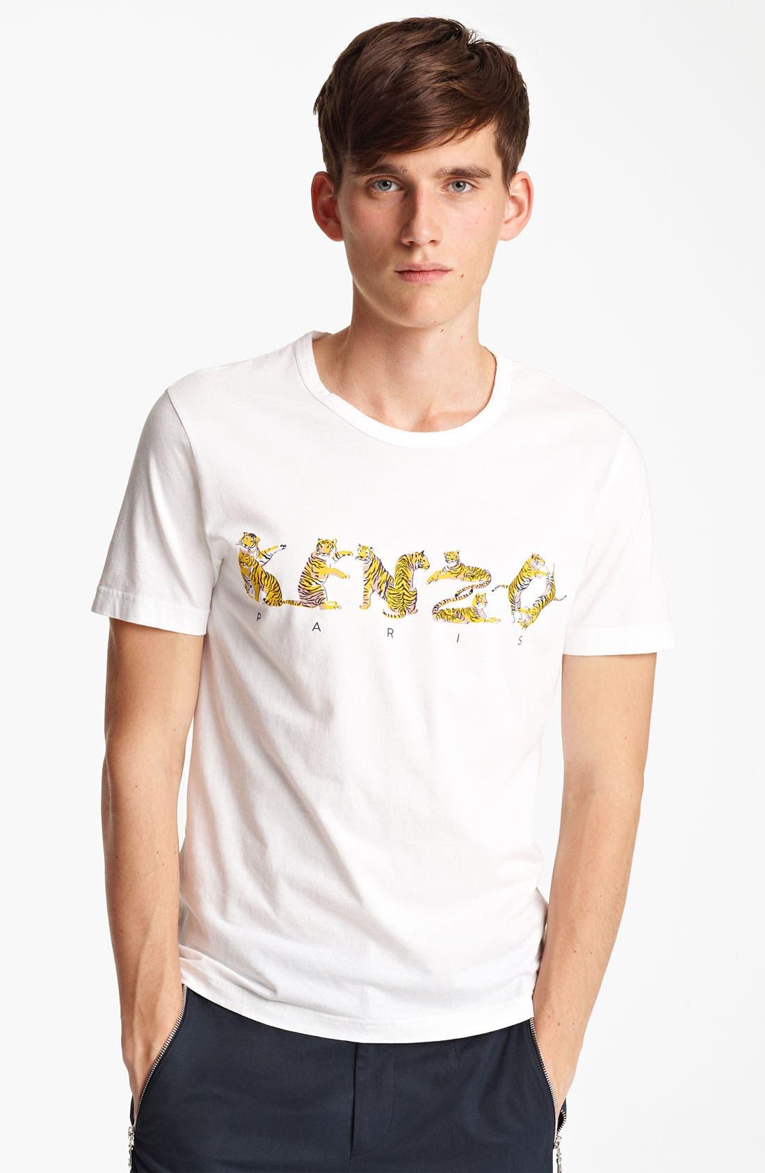 Alternate Image 1 Selected - KENZO Tiger Logo Graphic T-Shirt