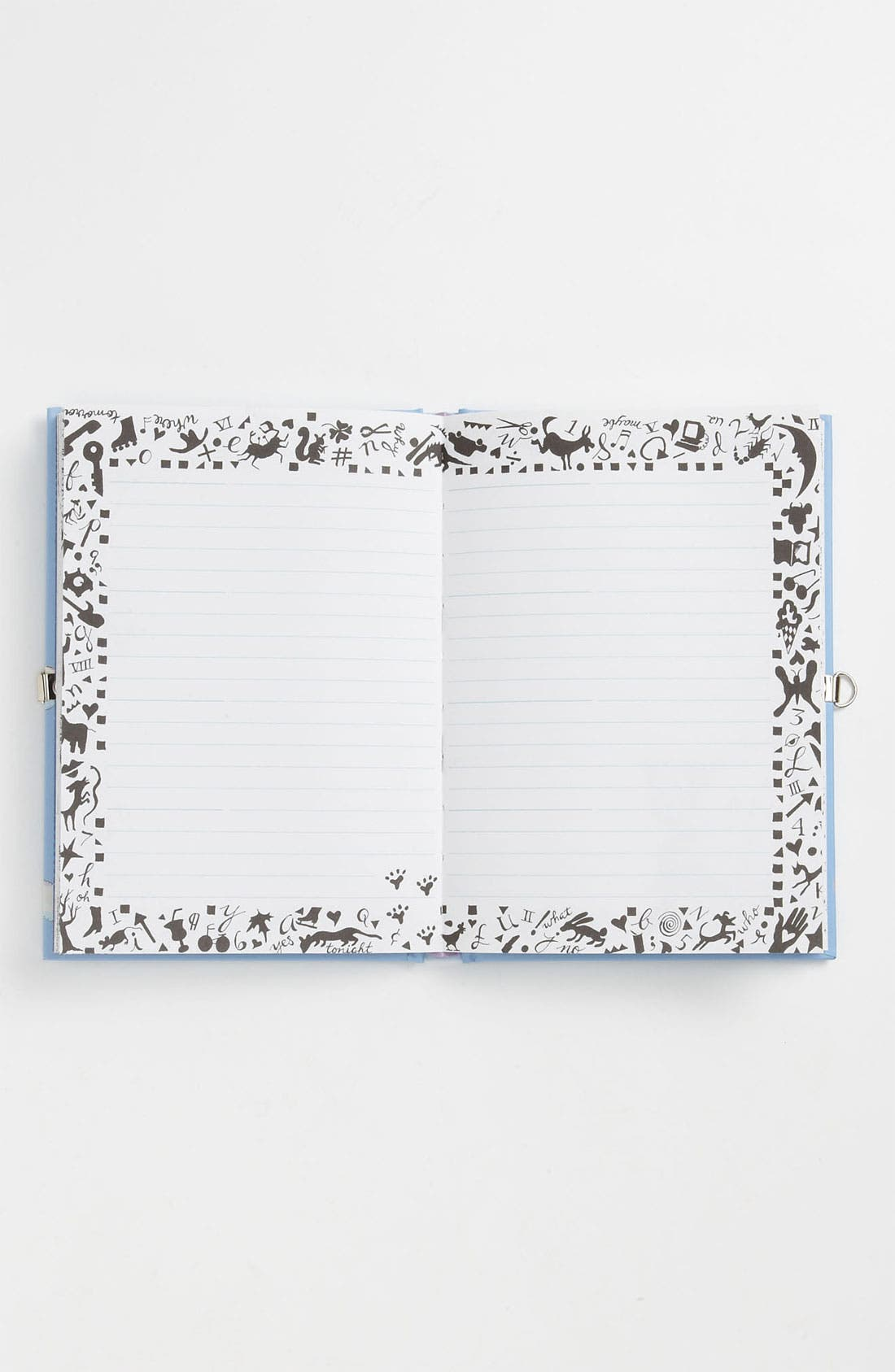 Alternate Image 2  - Fine Print Publishing 'Locket' Diary (Girls)