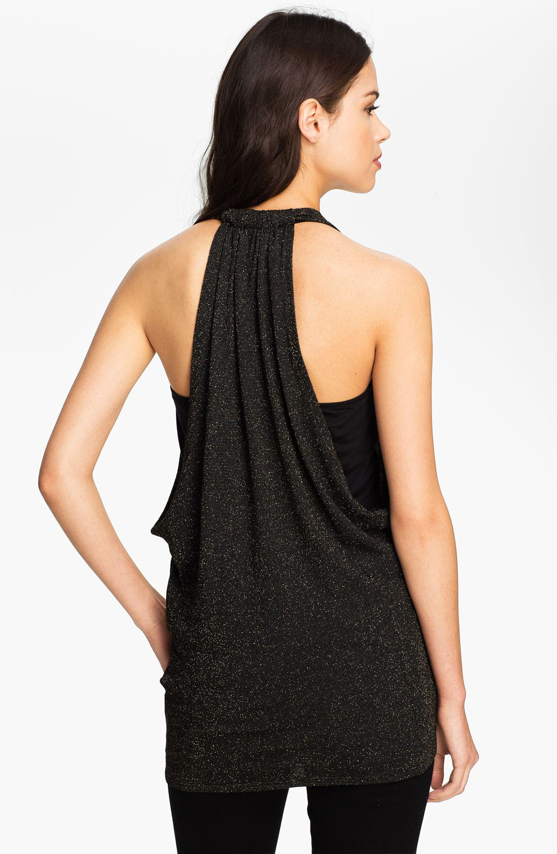 Alternate Image 2  - Ella Moss 'Tinsley' T-Back Draped Tank