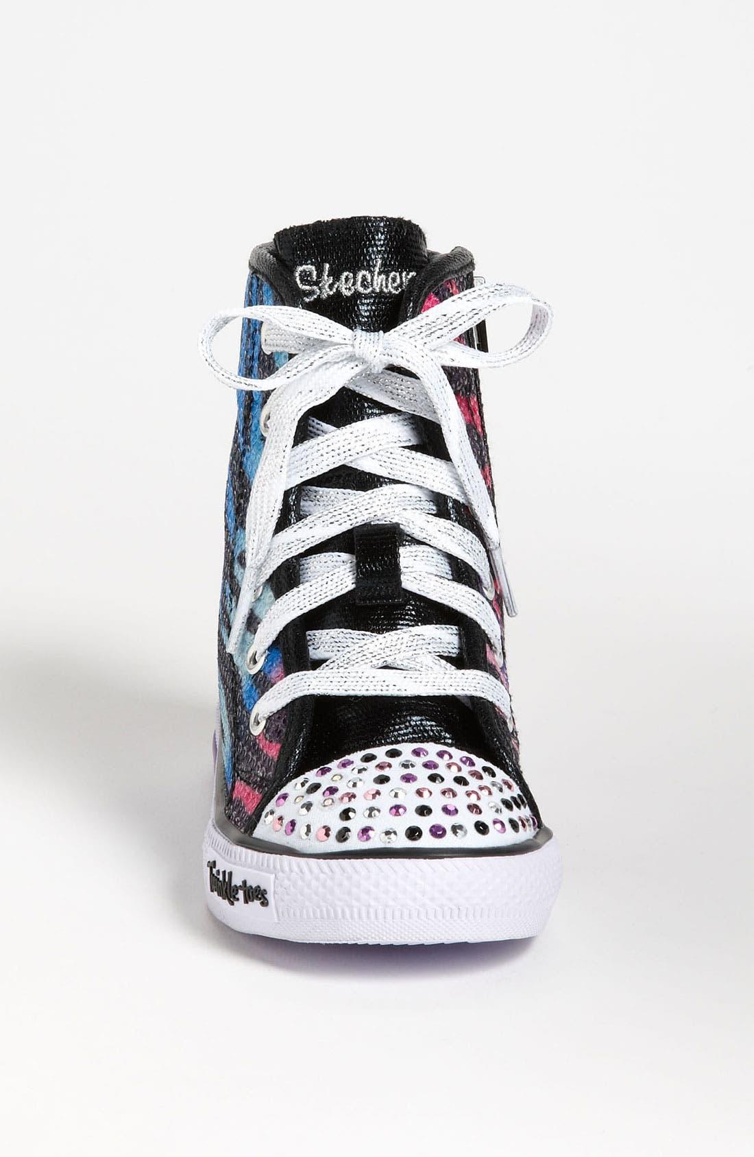 Alternate Image 3  - SKECHERS 'Shuffles - Notorious' Light Up Sneaker (Walker & Toddler)