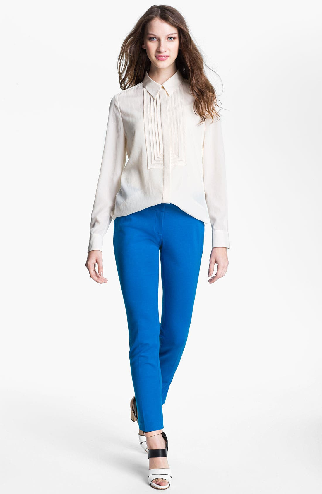 Alternate Image 4  - Vince Camuto Ponte Ankle Pants