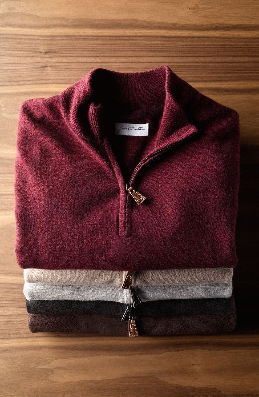 Alternate Image 2  - John W. Nordstrom® Cashmere Sweater