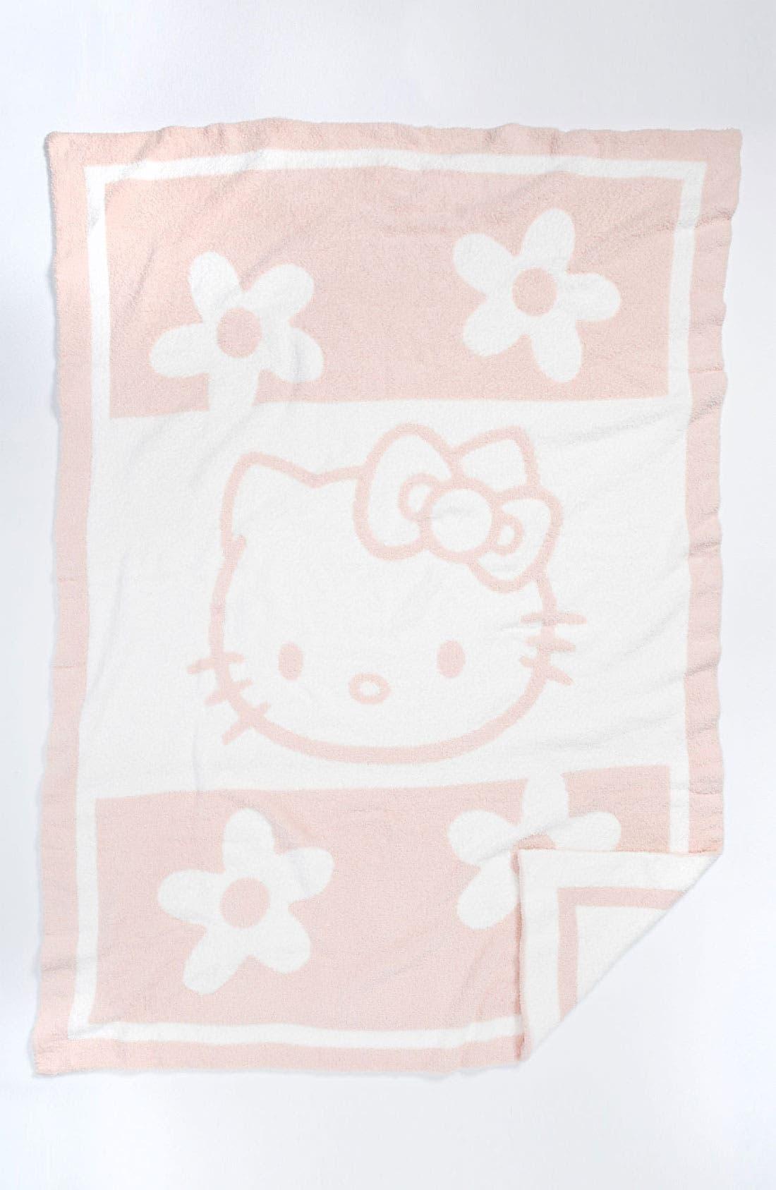 Main Image - Barefoot Dreams® 'Hello Kitty® CozyChic®' Blanket (Infant)