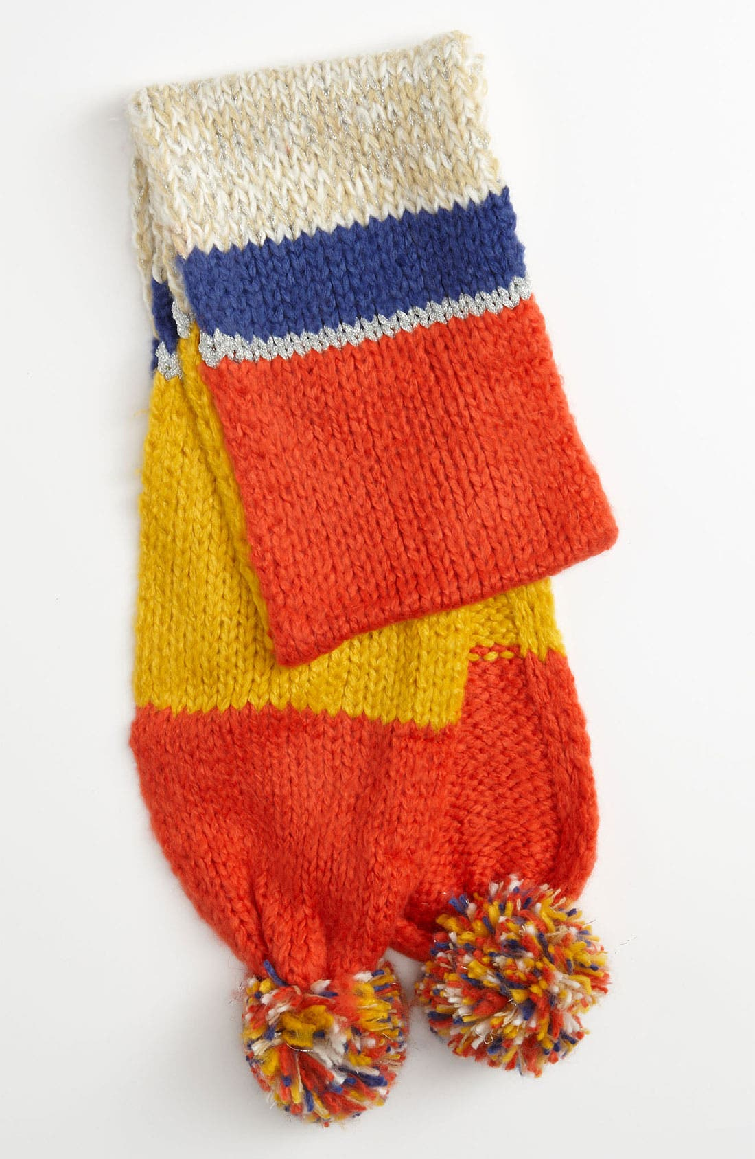 Alternate Image 1 Selected - The Accessory Collective Stripe Scarf (Girls)