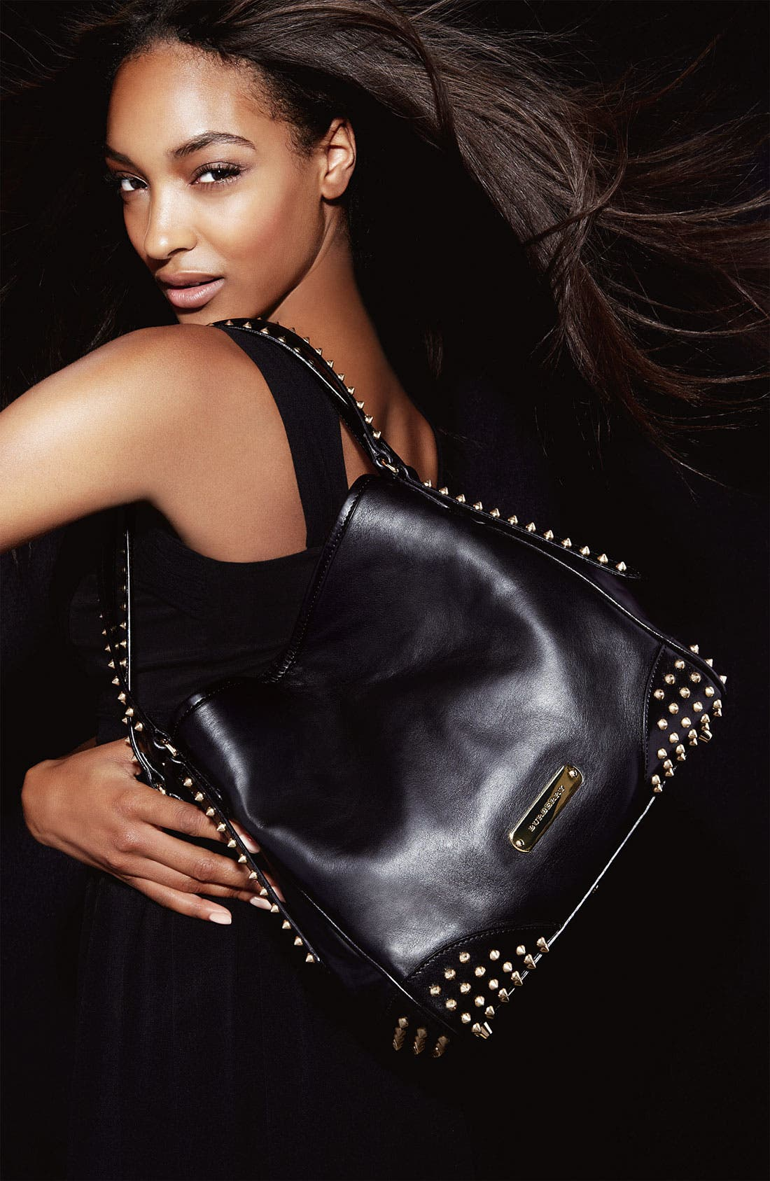 Alternate Image 5  - Burberry 'Bridle Studs' Leather Tote