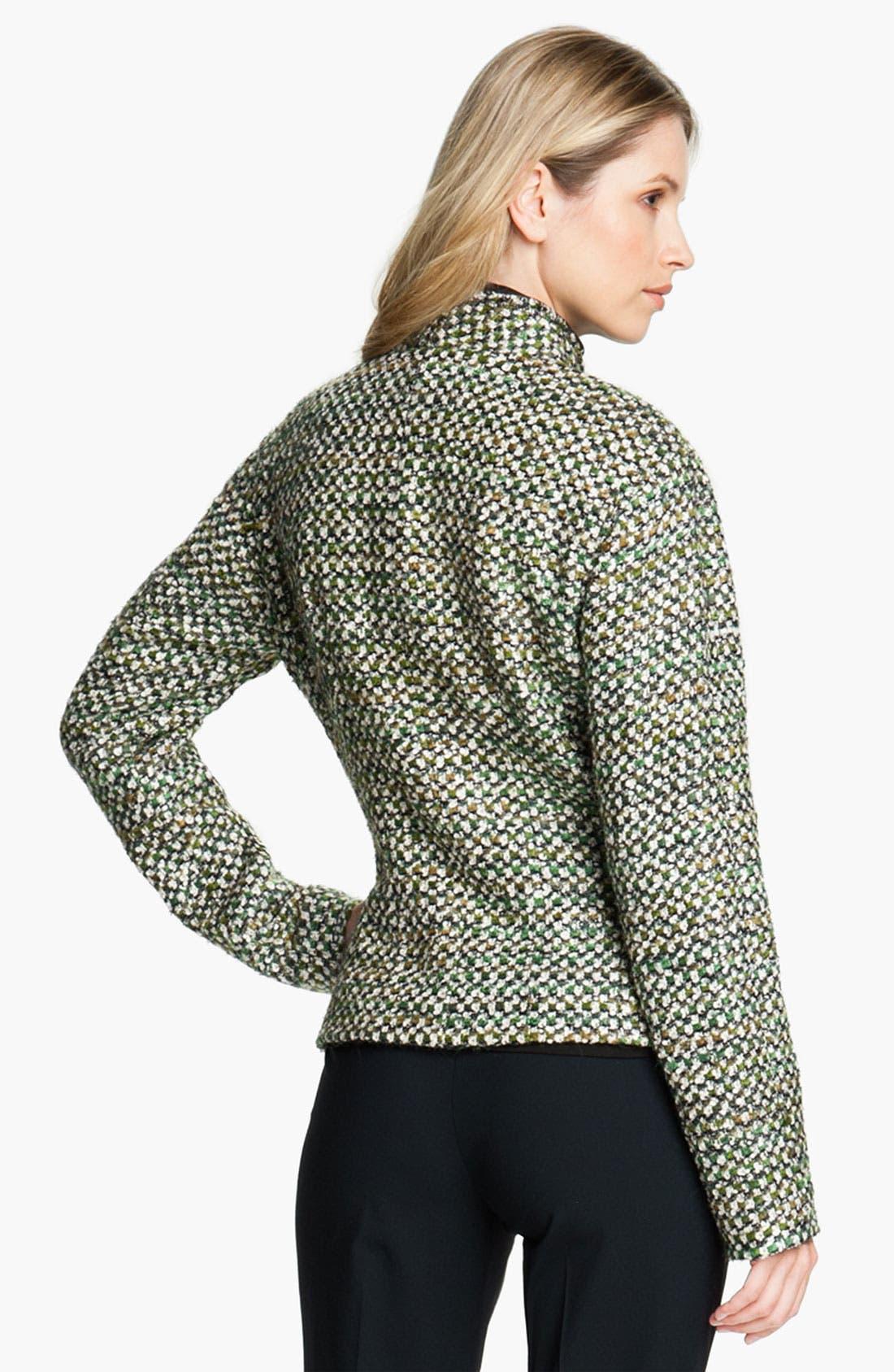 Alternate Image 2  - Lafayette 148 New York 'Hierarchy' Tweed Jacket (Petite)