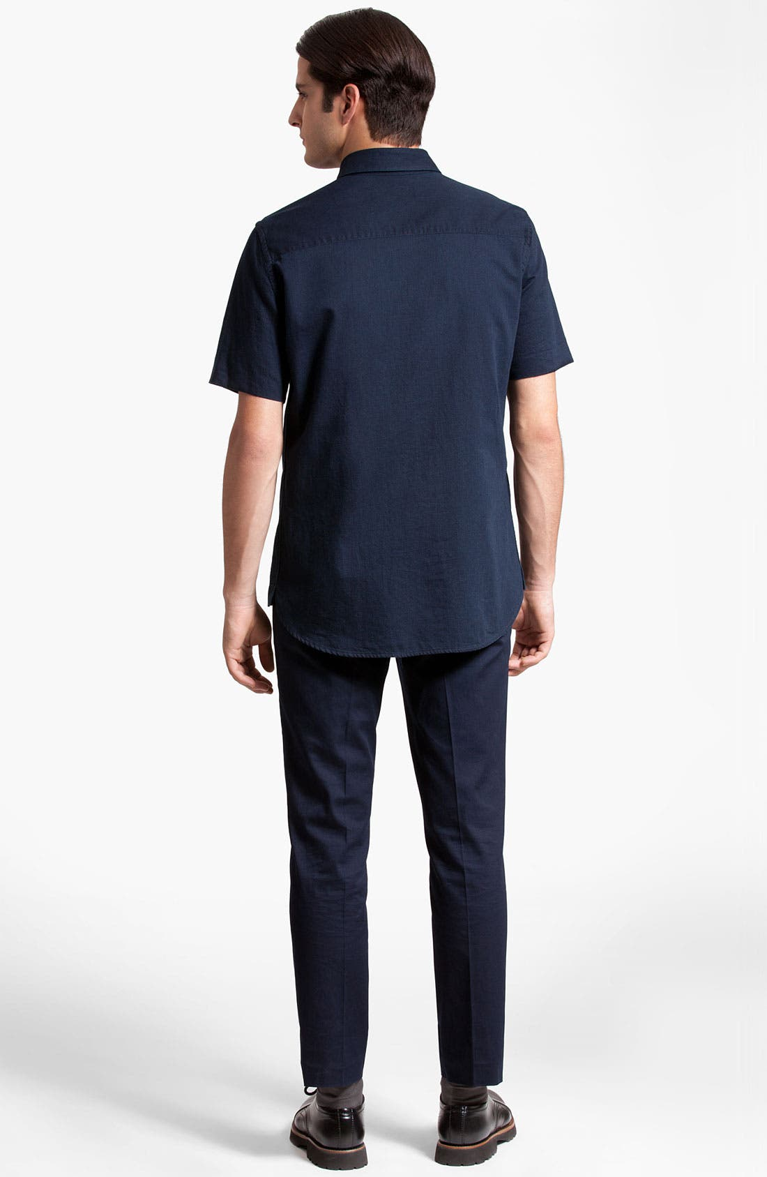 Alternate Image 5  - Marni Short Sleeve Denim Shirt