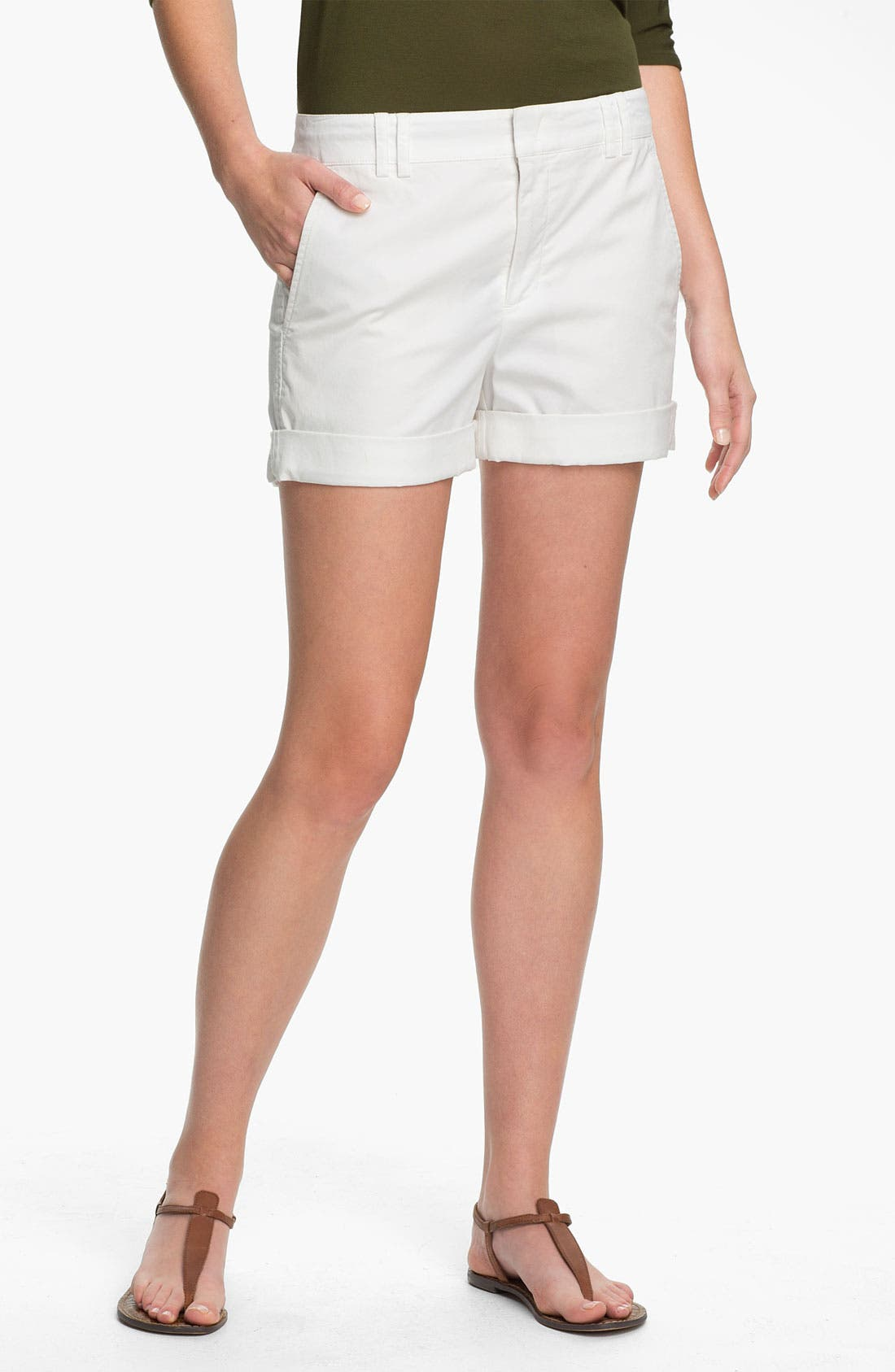 Alternate Image 1 Selected - Vince Cuff Boyfriend Shorts