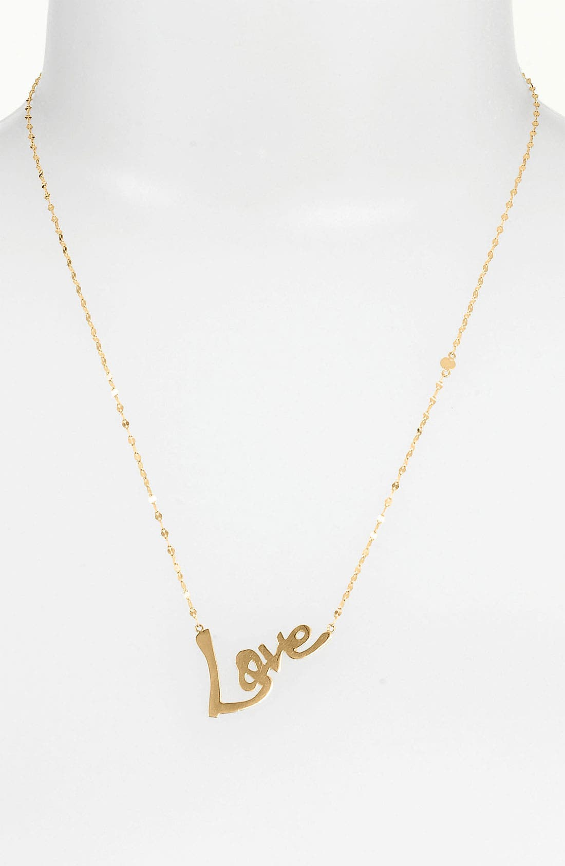 Alternate Image 1 Selected - Lana Jewelry 'Love' Charm Necklace