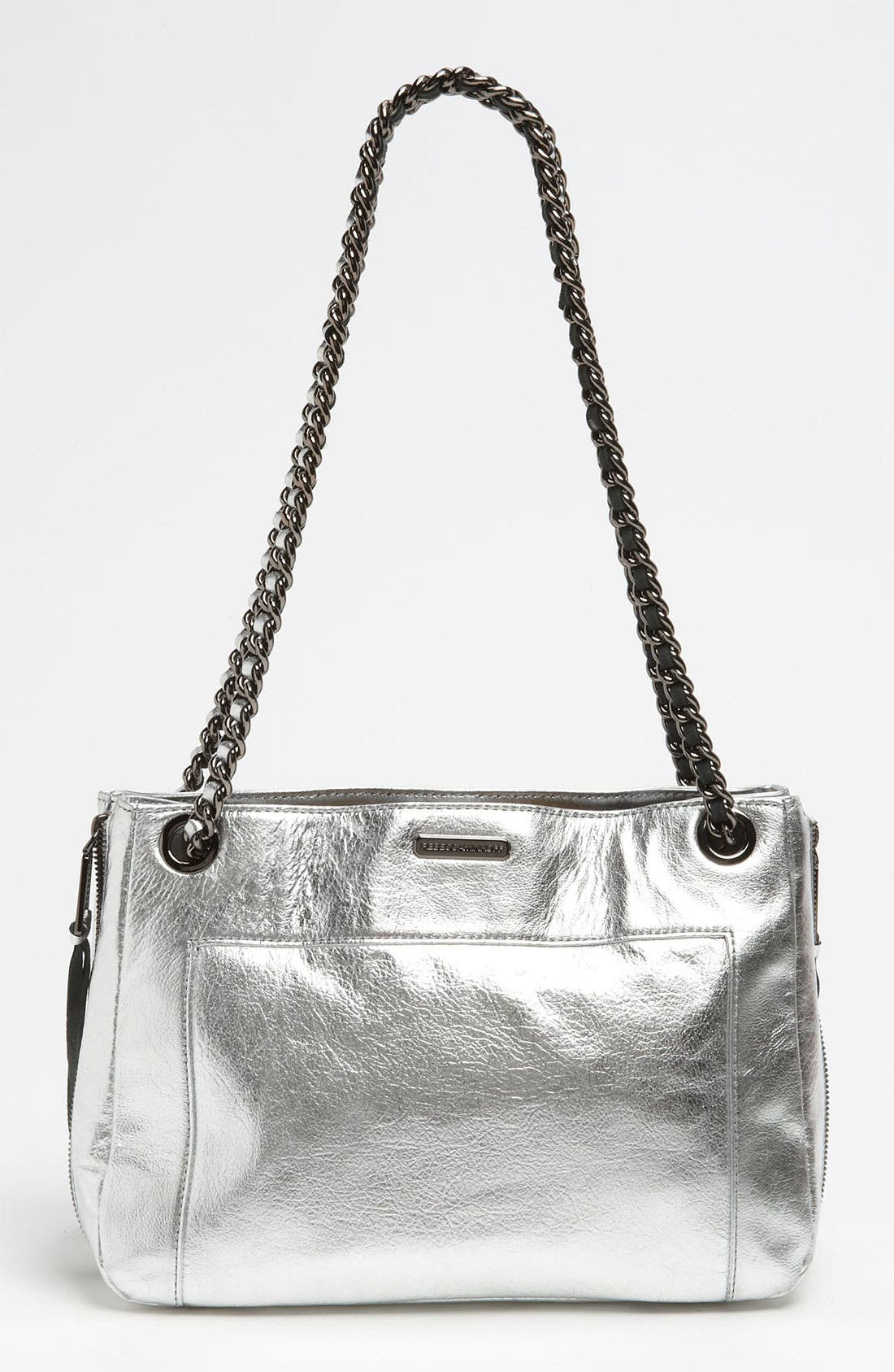 Alternate Image 4  - Rebecca Minkoff 'Swing' Metallic Leather Shoulder Bag