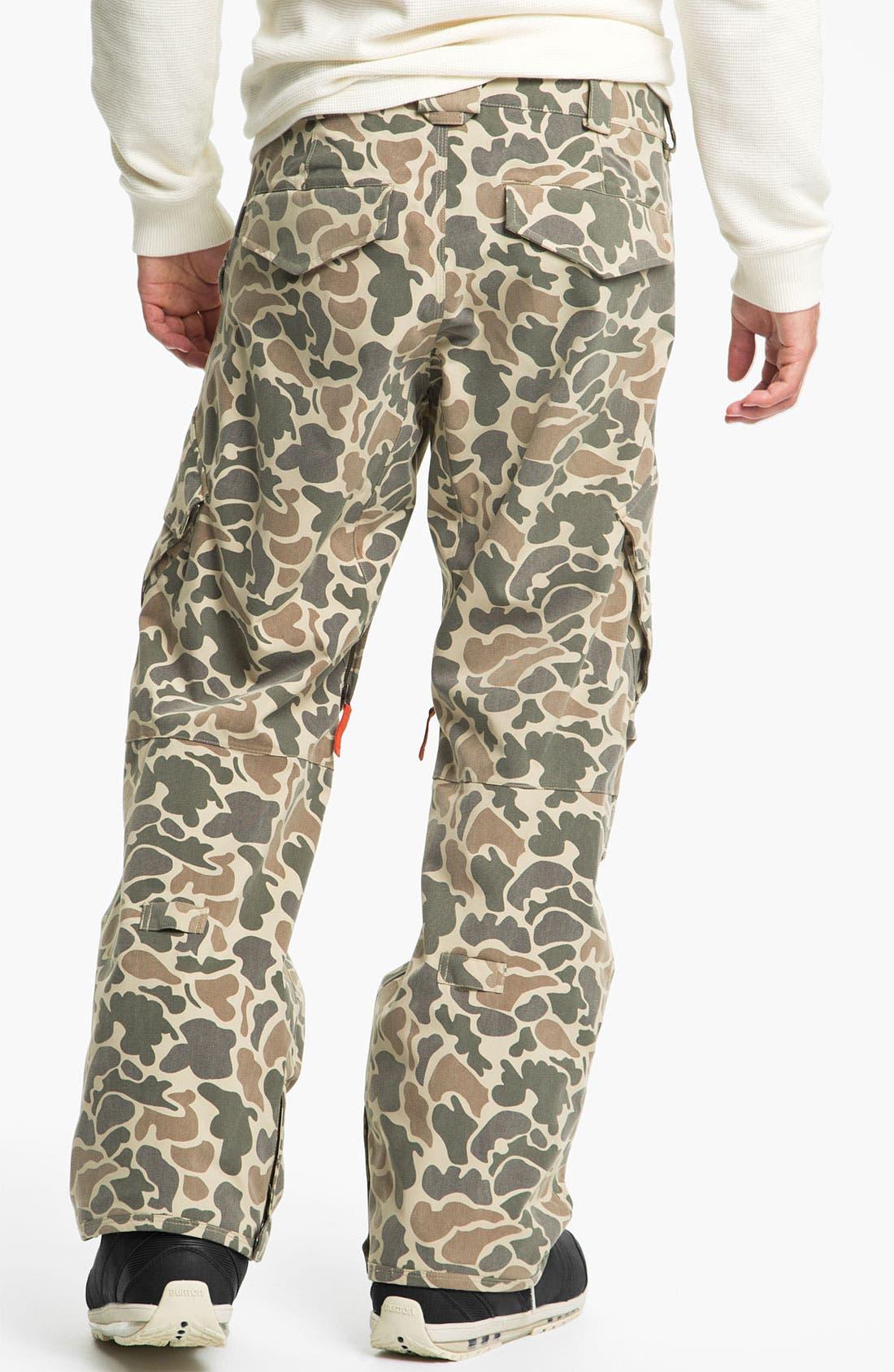 Alternate Image 2  - Burton 'Hellbrook' Camo Snowboard Pants