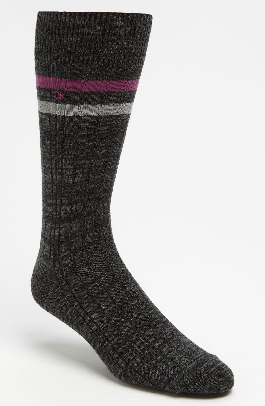 Alternate Image 1 Selected - Calvin Klein Stripe Socks