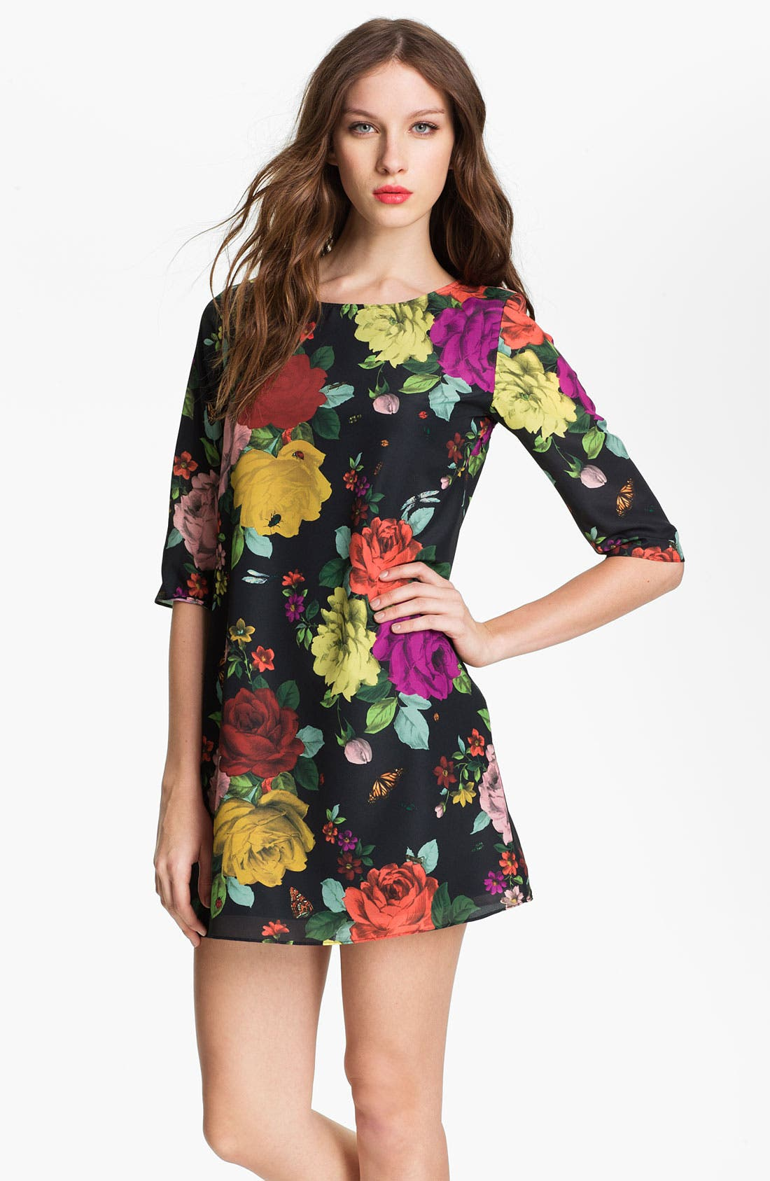 Alternate Image 1 Selected - Ted Baker London Print Tunic Dress