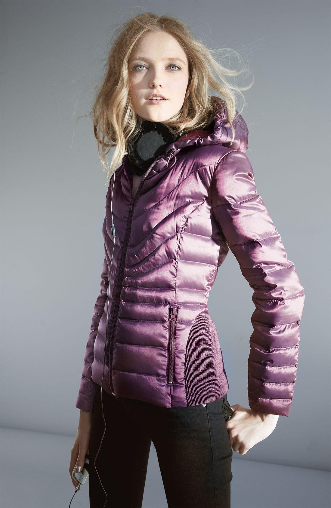 Alternate Image 4  - Bernardo Hooded Iridescent Down Jacket