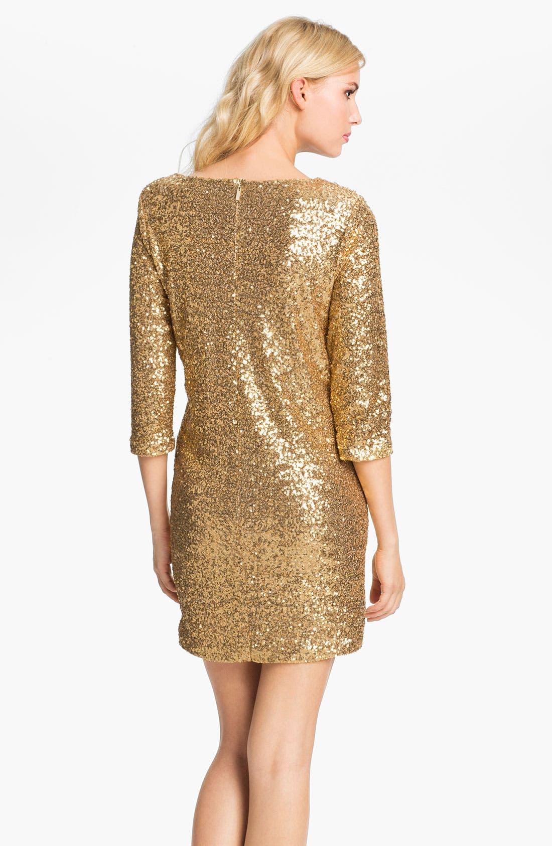 Alternate Image 2  - Anne Klein Sequin Dress (Online Exclusive)