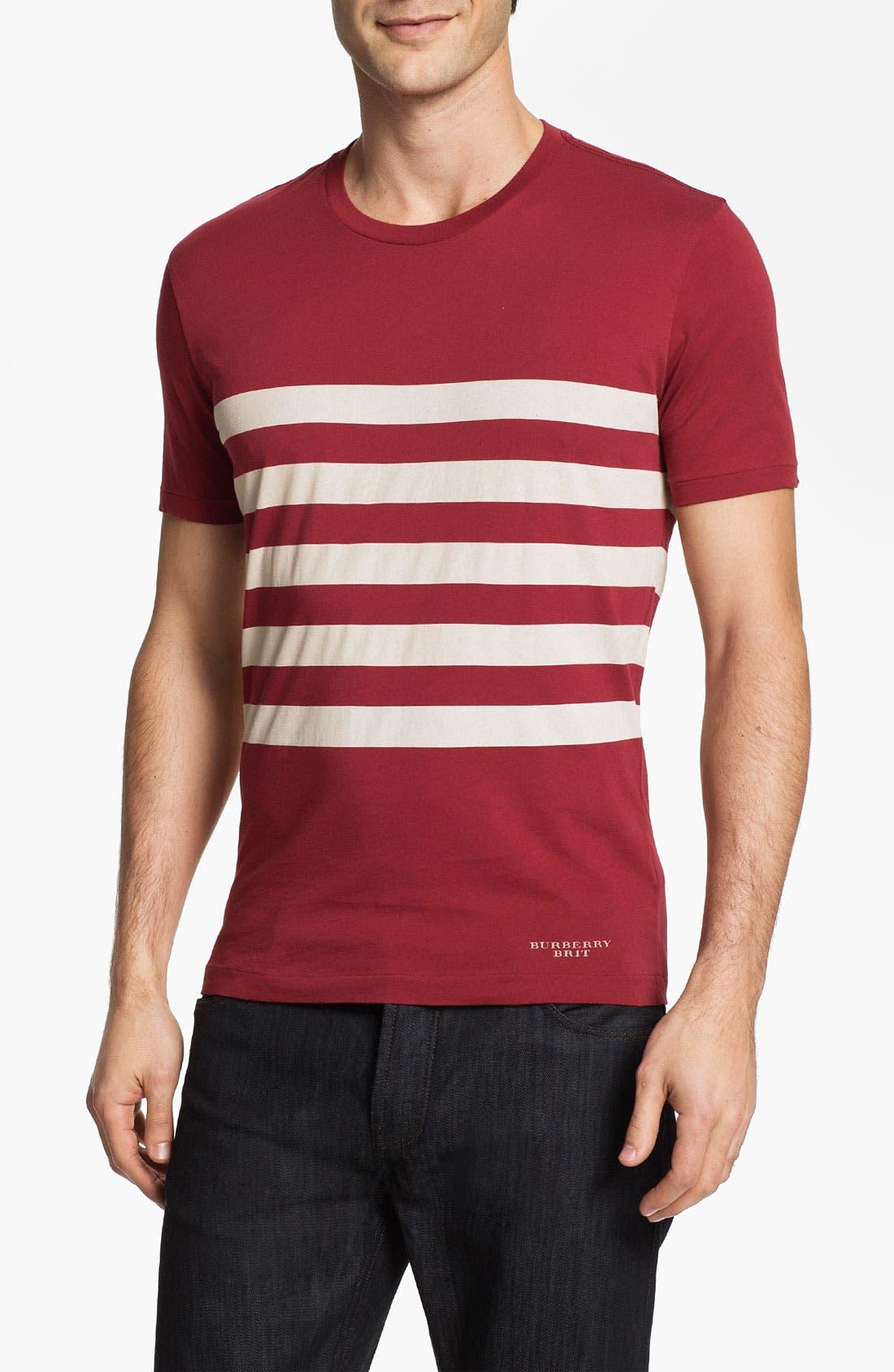 Alternate Image 1 Selected - Burberry Brit 'Piper' T-Shirt