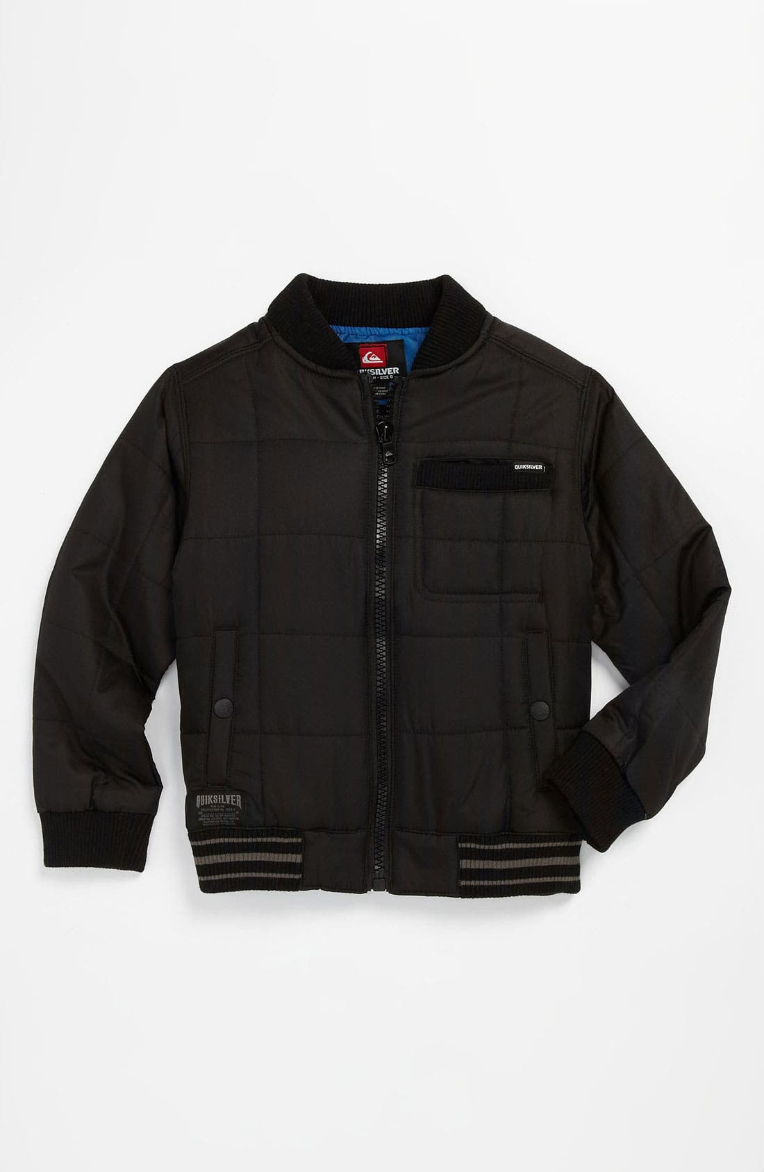 Main Image - Quiksilver 'Recon' Quilted Jacket (Little Boys)