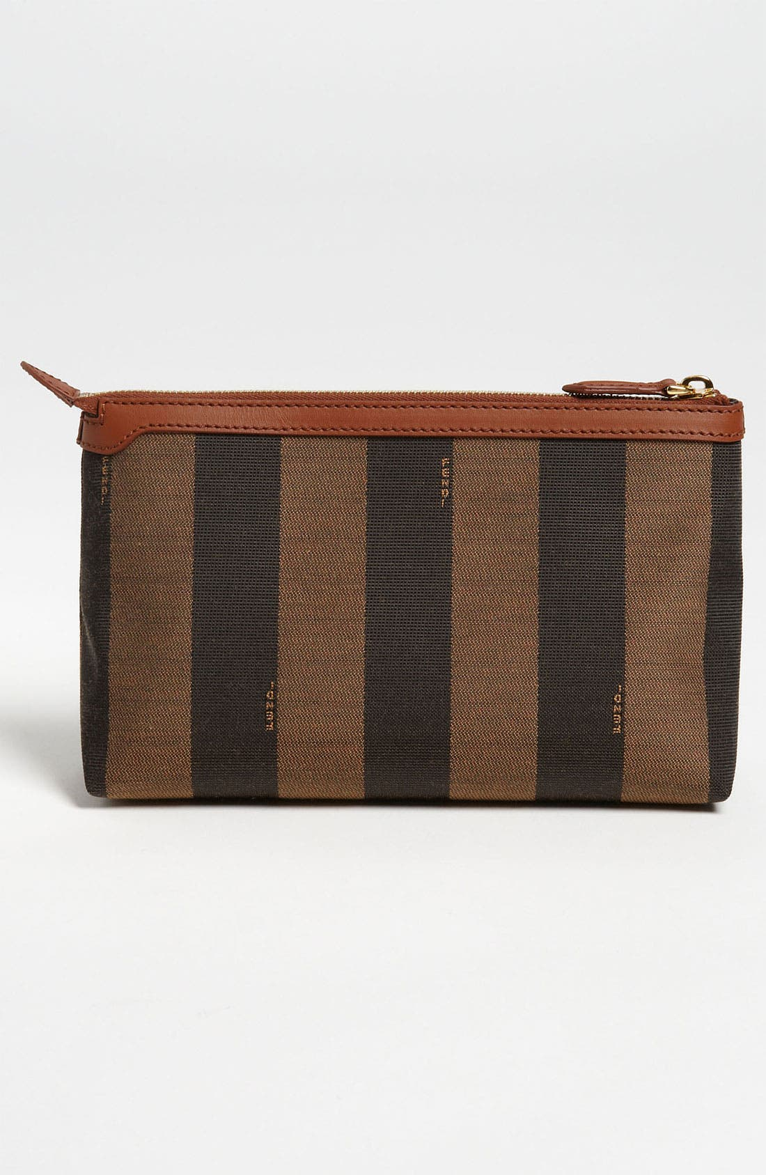 Alternate Image 4  - Fendi 'Pequin - Large' Cosmetics Case