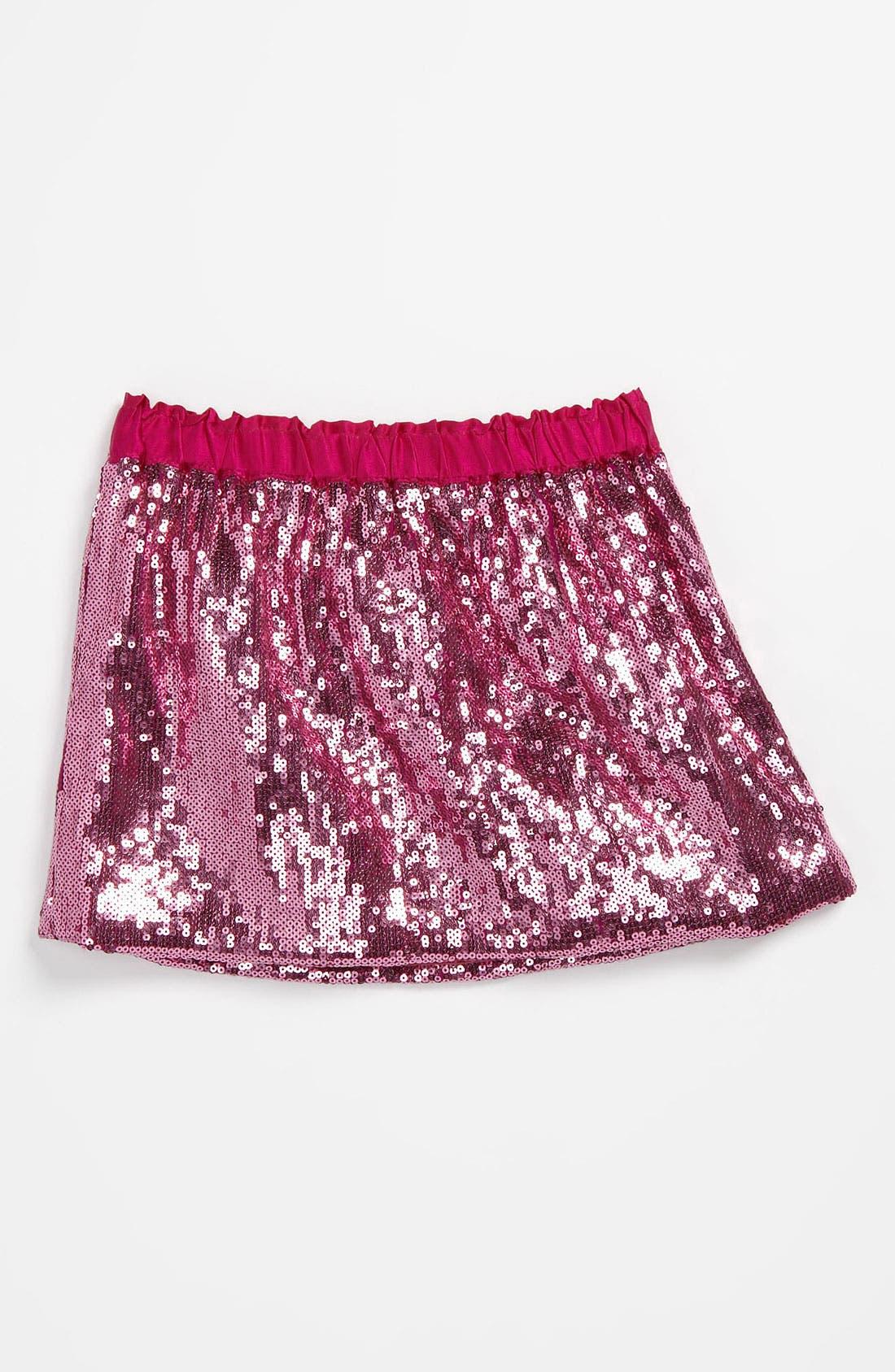 Main Image - Curio+Kind Sparkle Skirt (Toddler)