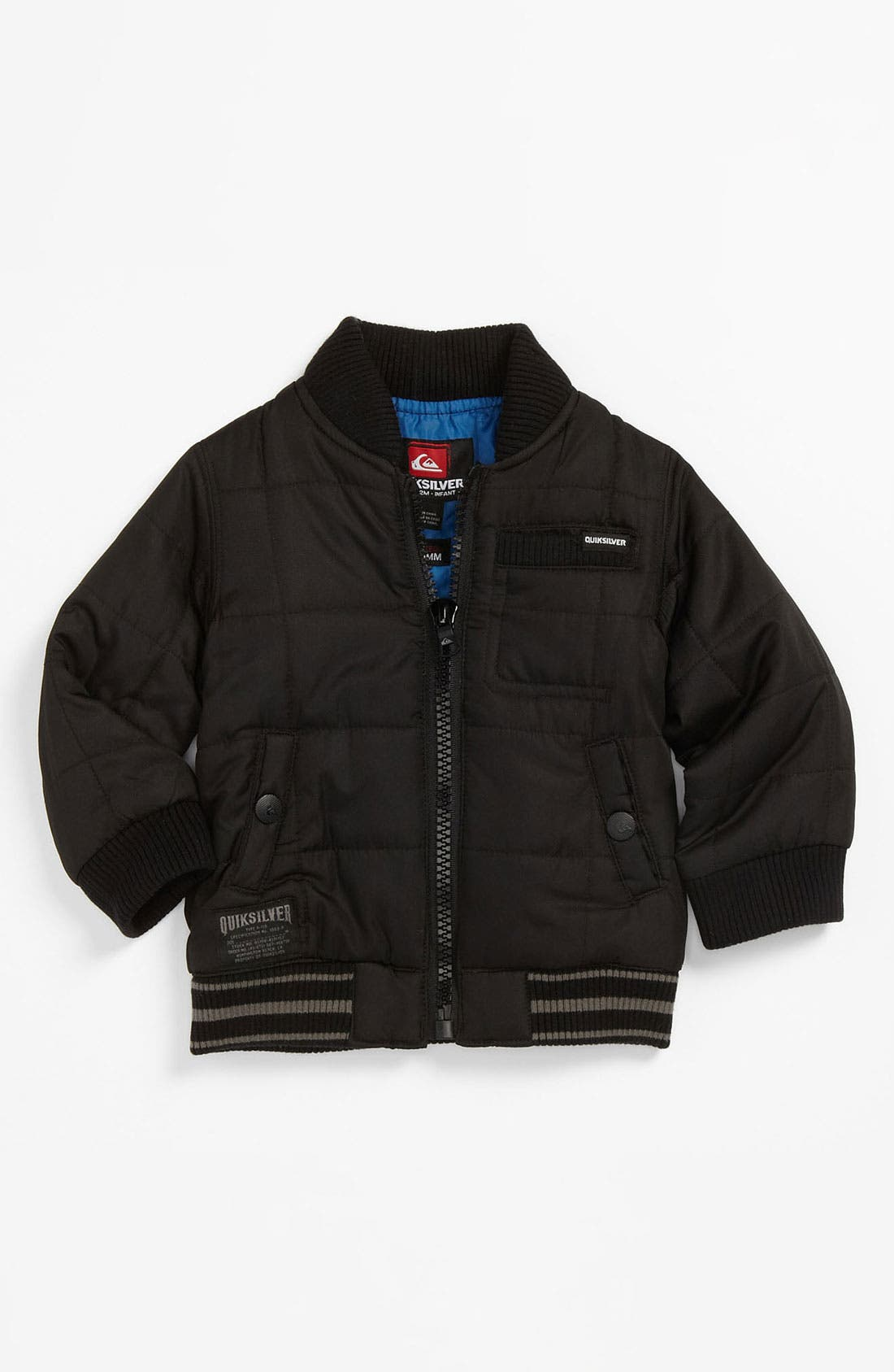 Alternate Image 1 Selected - Quiksilver 'Recon' Quilted Jacket (Infant)
