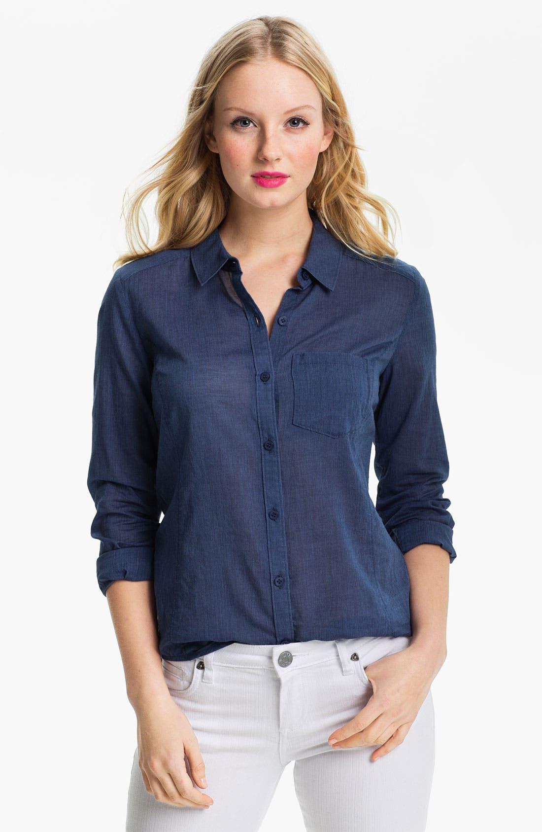 Main Image - Caslon® Long Sleeve Shirt