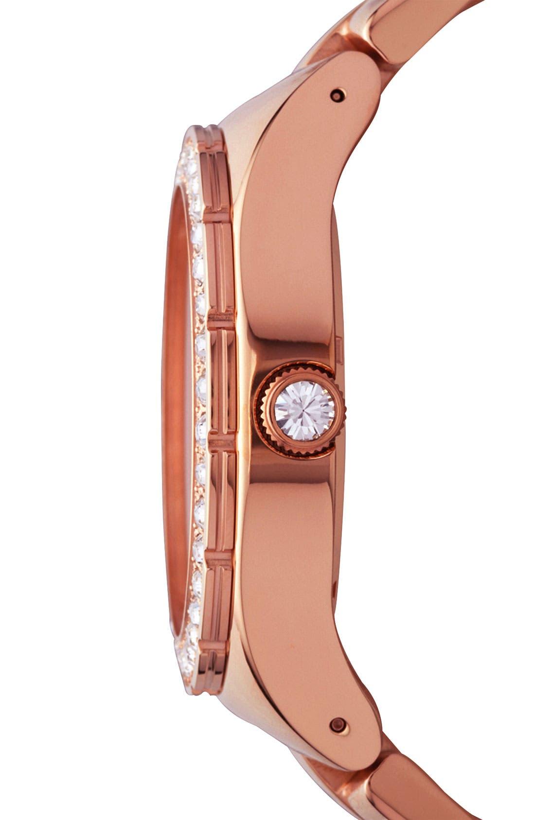 Alternate Image 2  - adidas Originals 'Melbourne' Pavé Crystal Watch, 50mm