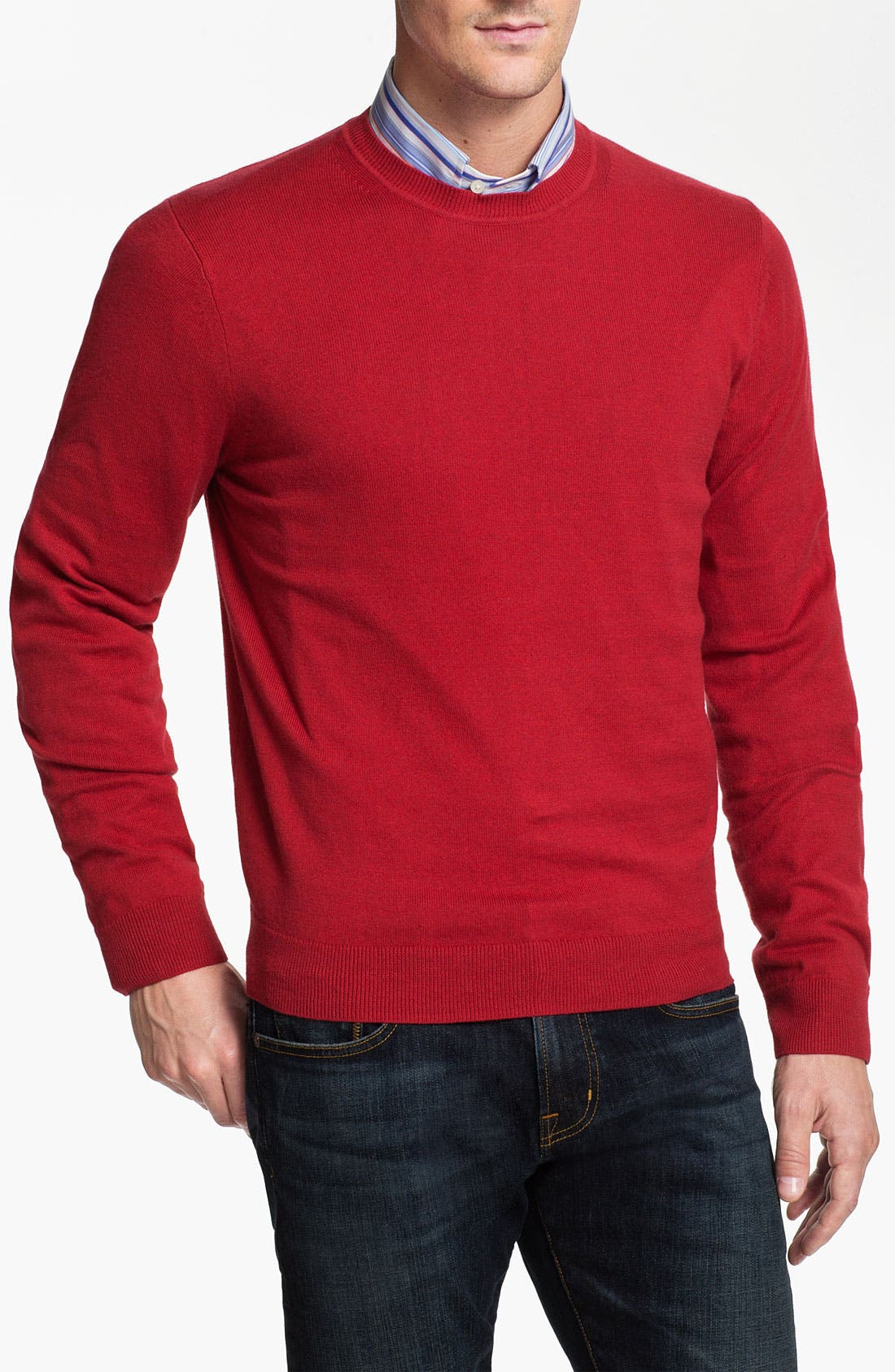 Main Image - Nordstrom Cotton & Cashmere Sweater