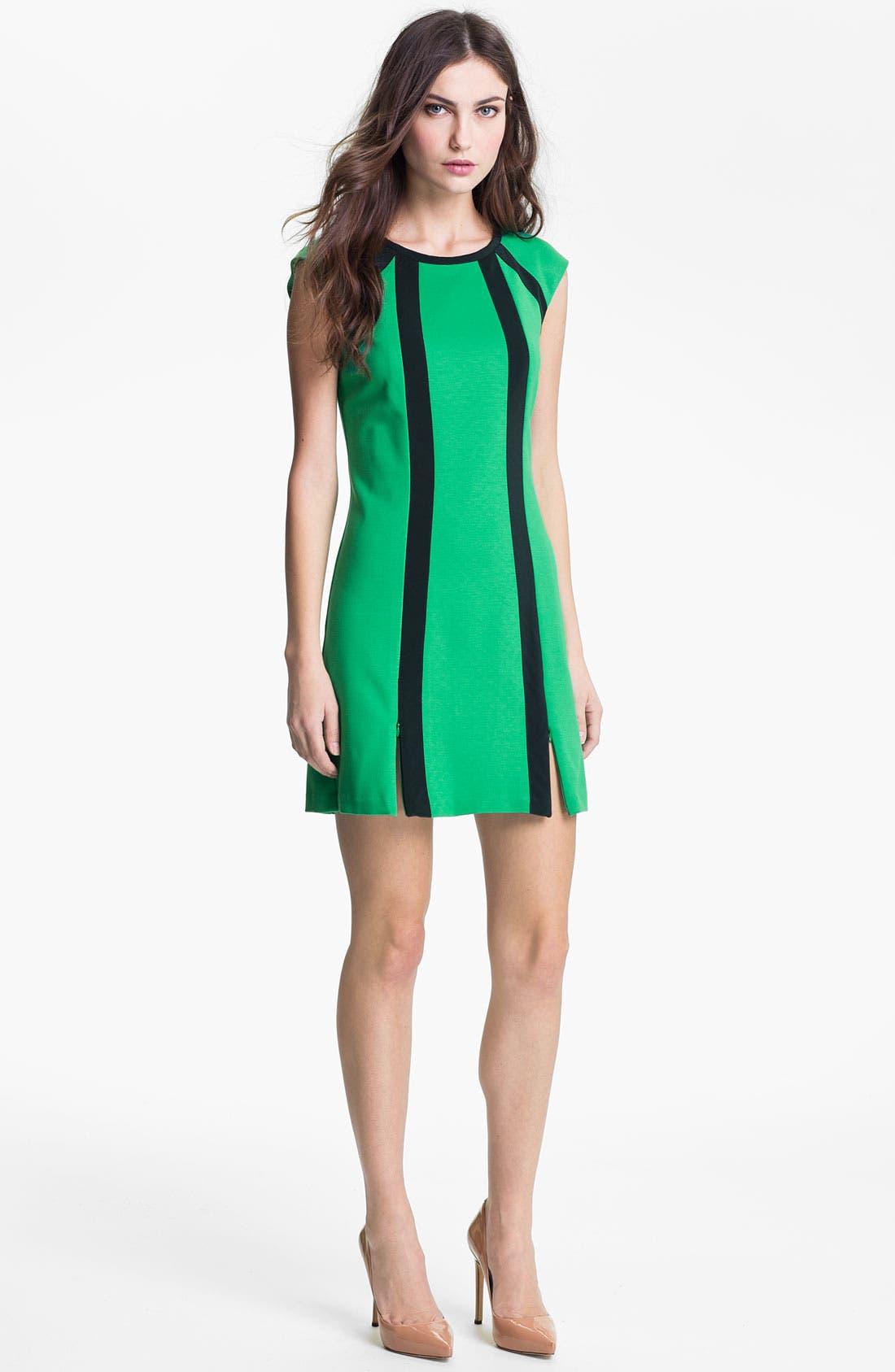 Main Image - Nanette Lepore 'Underground' A-Line Minidress