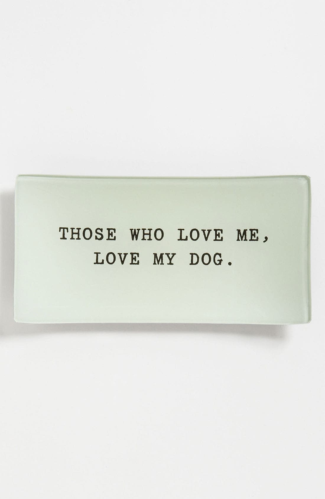 Alternate Image 1 Selected - Ben's Garden 'Those Who Love Me' Trinket Tray