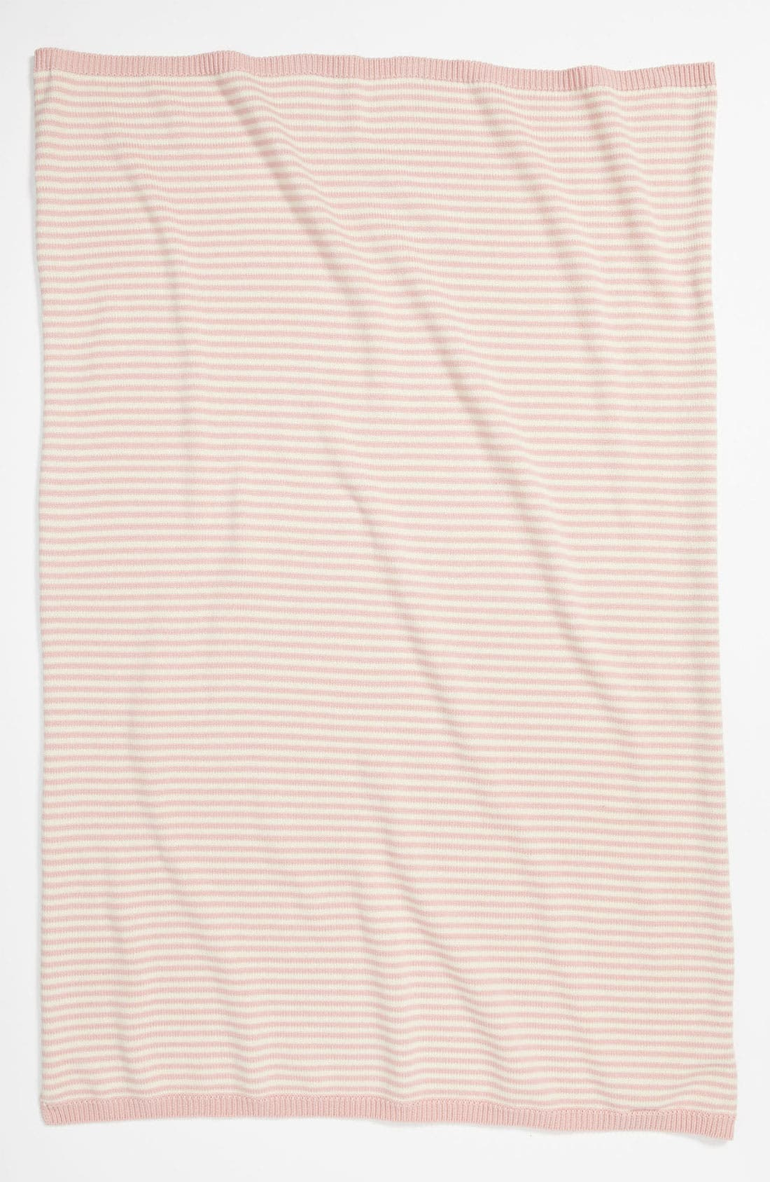 Alternate Image 1 Selected - Nordstrom Baby Stripe Sweater Knit Blanket (Infant)