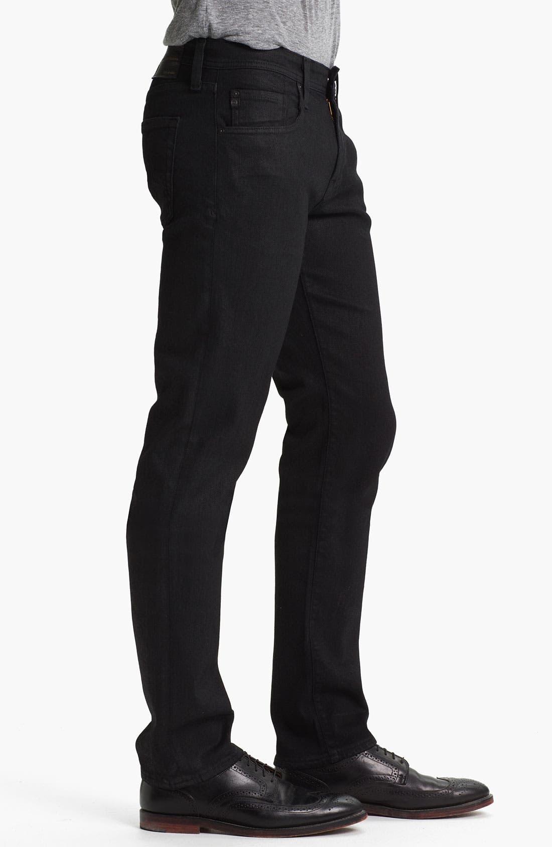 Alternate Image 3  - AG Jeans 'Matchbox Slim' Straight Leg Jeans (Coal)