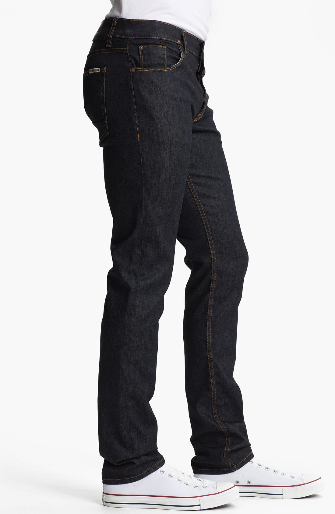 Alternate Image 3  - Hudson Jeans 'Sartor' Skinny Fit Jeans (Edges)