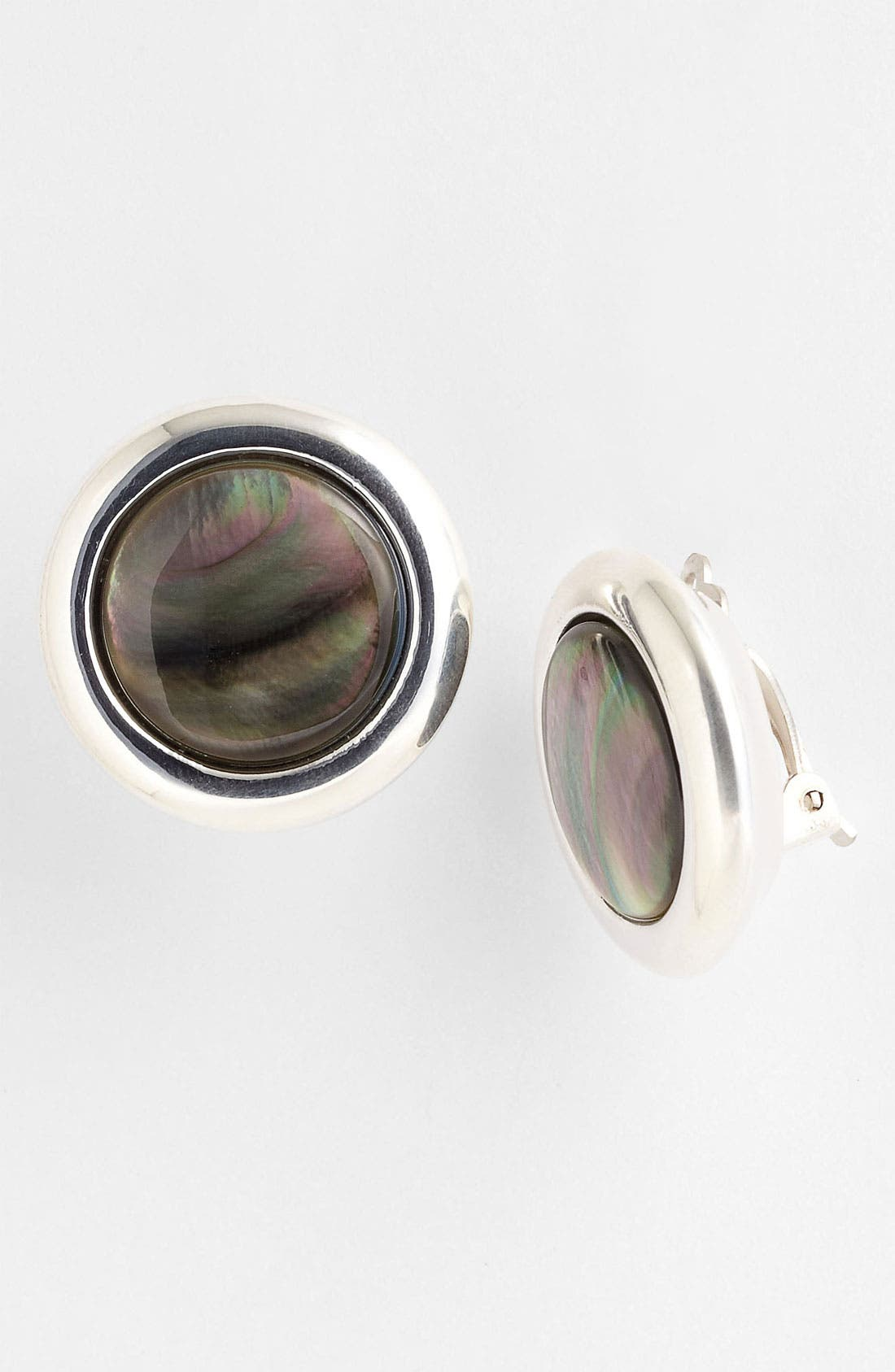 Alternate Image 1 Selected - Simon Sebbag 'Tahiti' Clip Stud Earrings