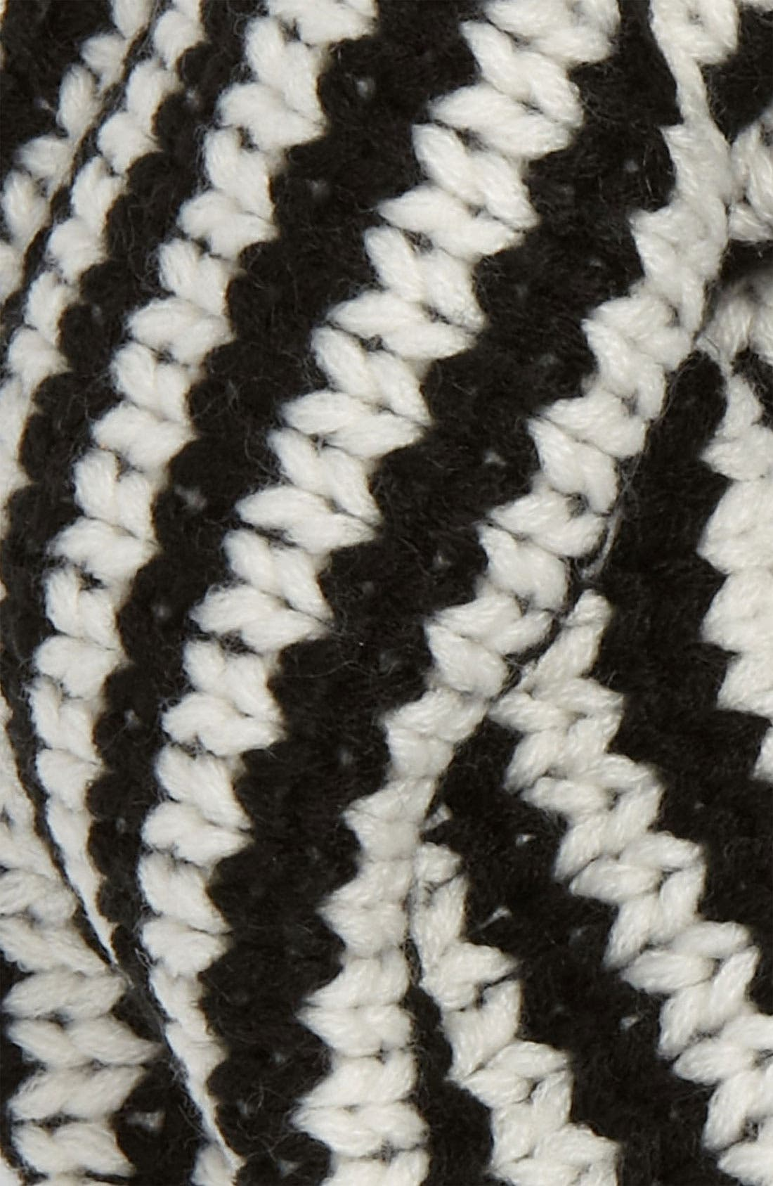 Alternate Image 2  - Echo Stripe Knit Infinity Scarf (Girls)