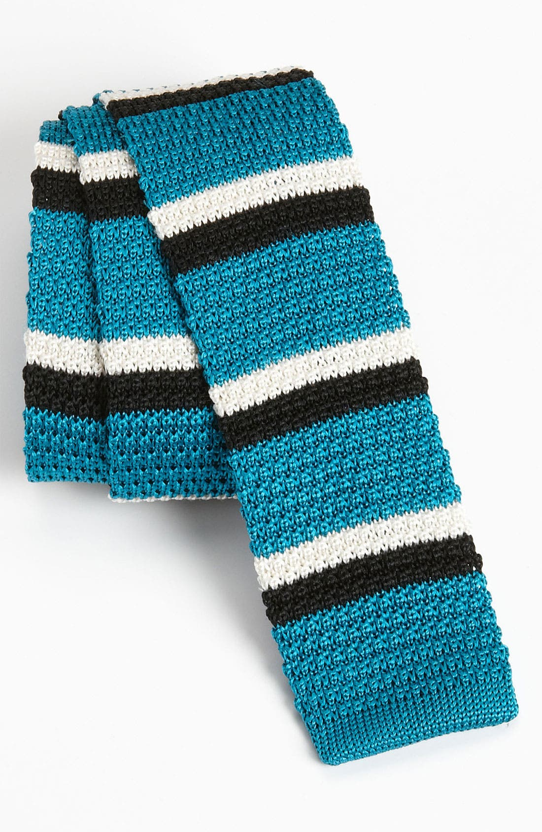 Alternate Image 1 Selected - The Tie Bar 'Next Stripe' Knit Tie (Online Only)