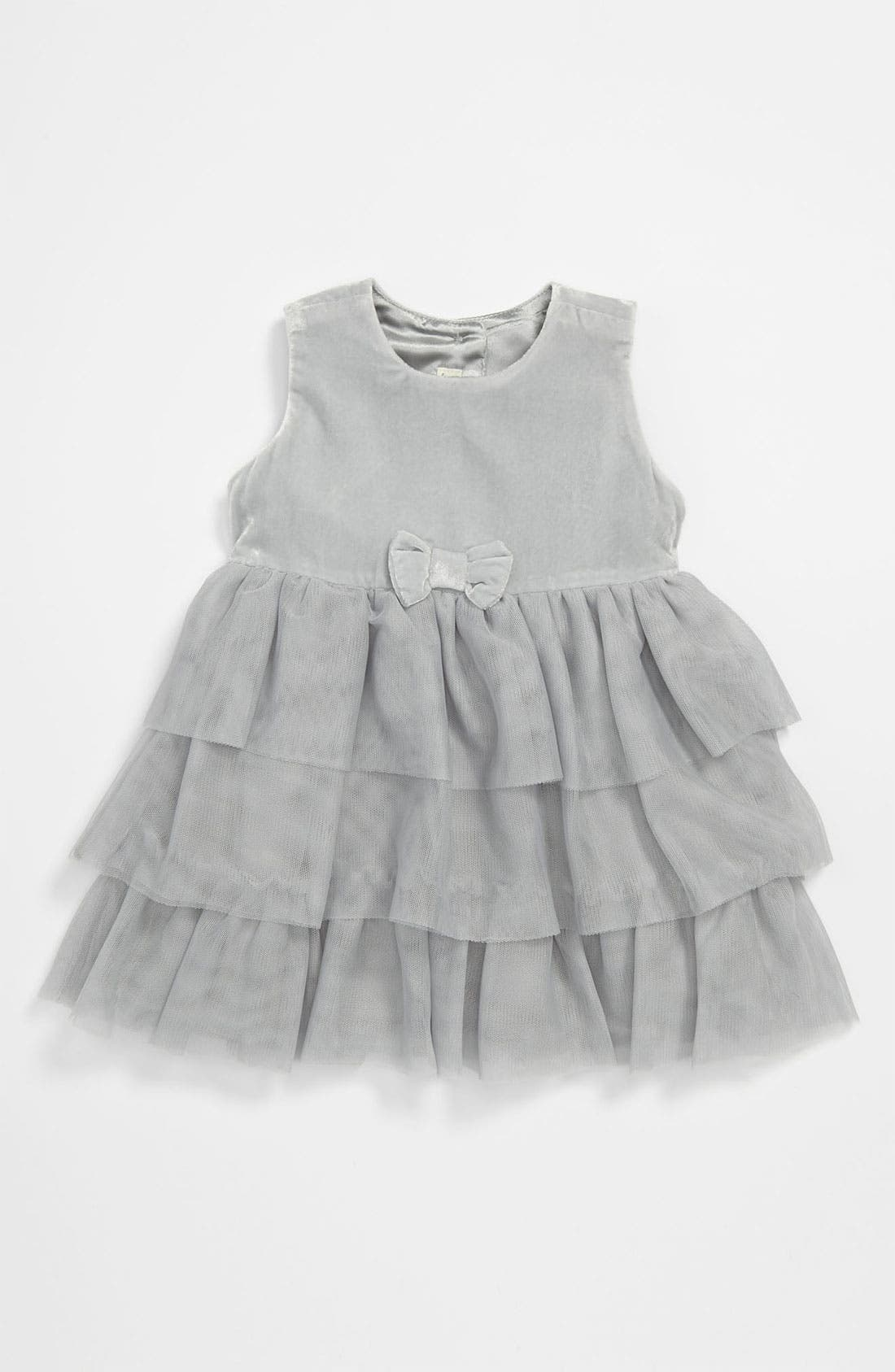 Alternate Image 1 Selected - United Colors of Benetton Kids Ruffle Dress (Infant)