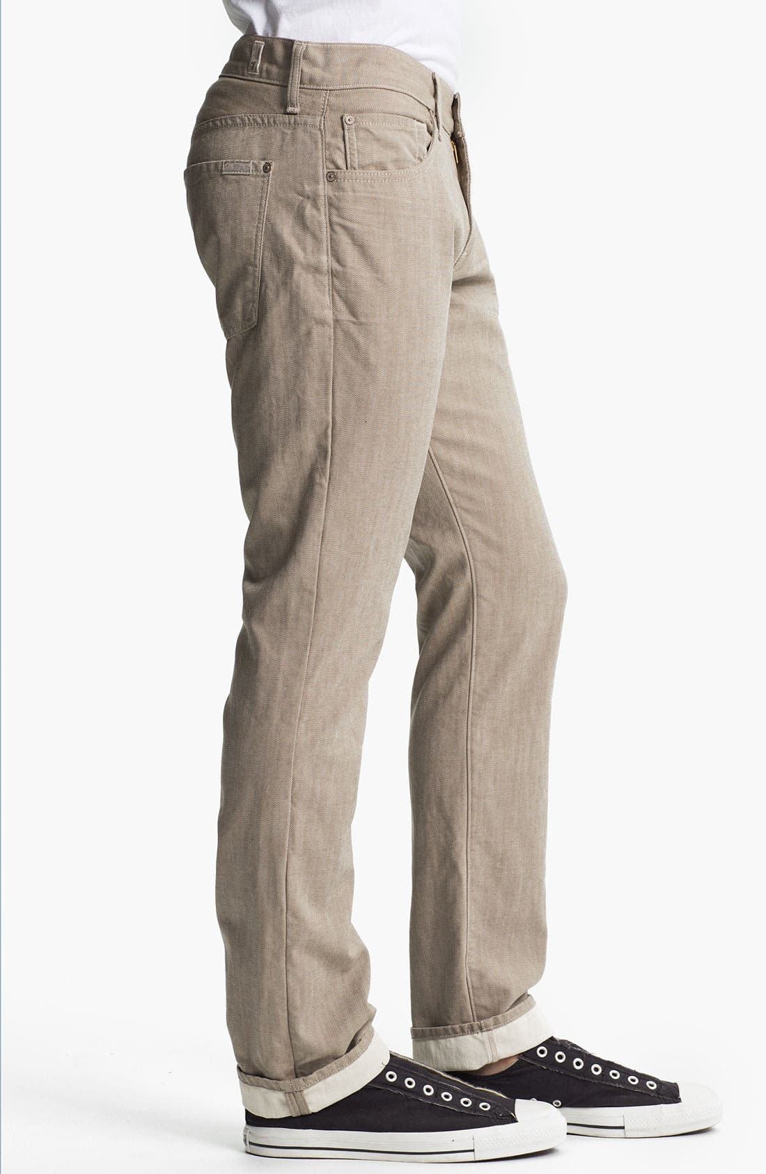 Alternate Image 3  - 7 For All Mankind® Signature Straight Leg Pants