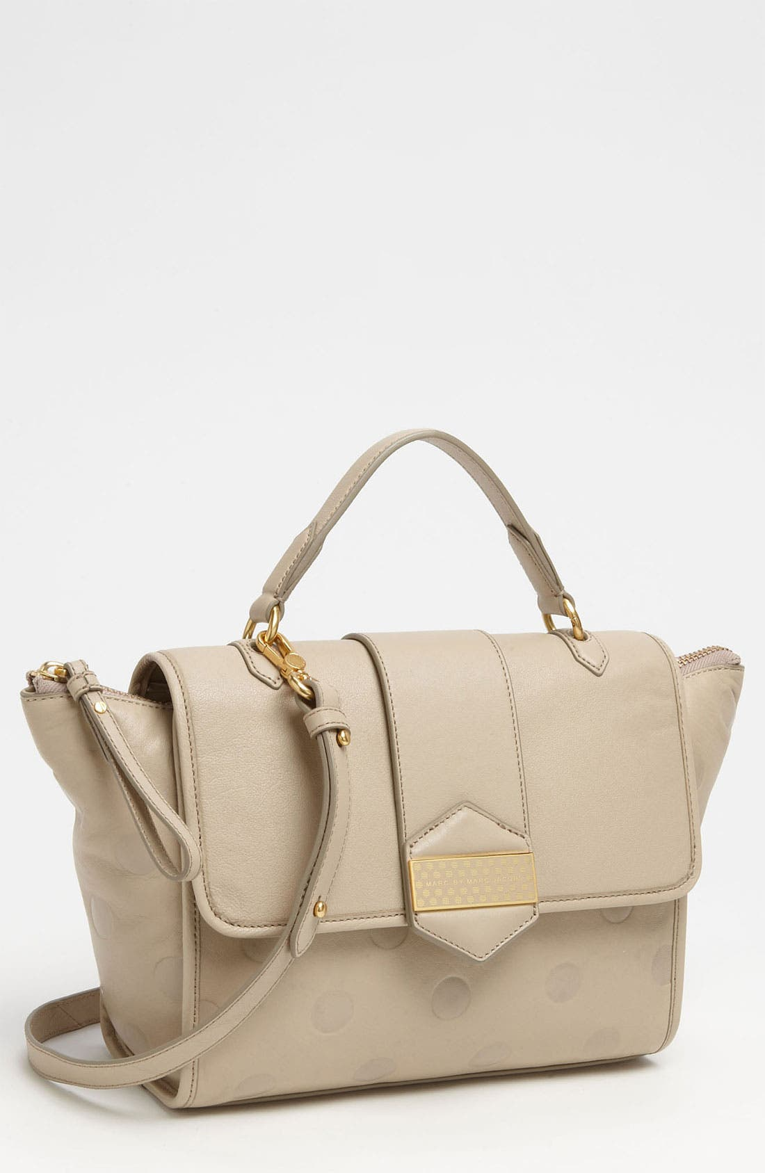 Main Image - MARC BY MARC JACOBS 'Flipping Dots' Top Handle Satchel
