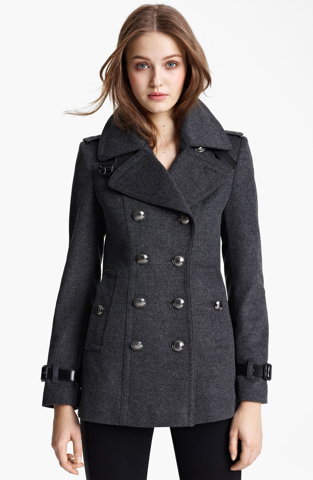 Alternate Image 1 Selected - Burberry London Wool & Cashmere Jacket