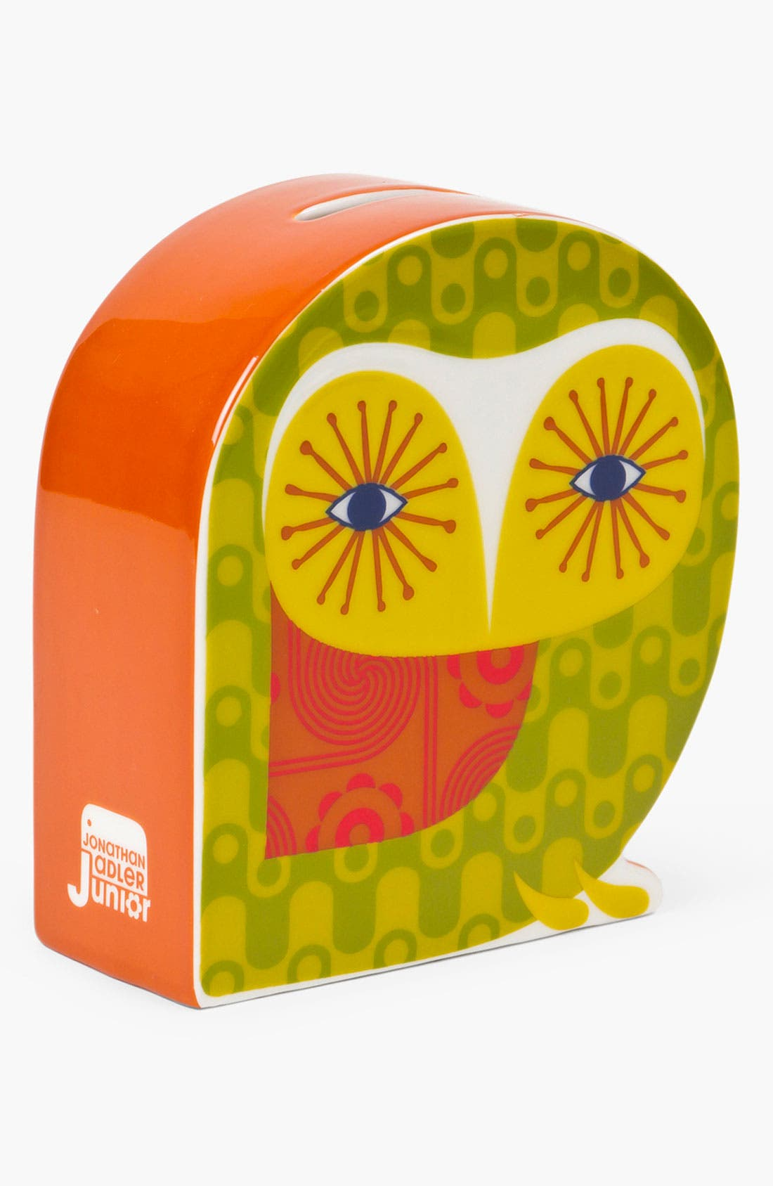 Alternate Image 1 Selected - Jonathan Adler 'Owl' Ceramic Bank
