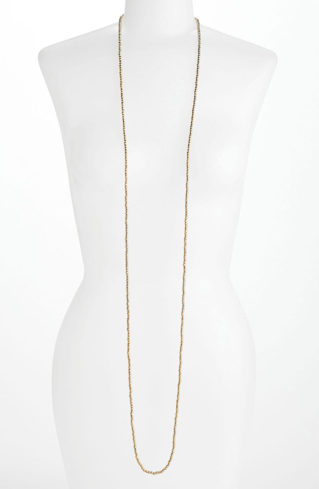 Alternate Image 1 Selected - Nordstrom 'Sand Dollar' Extra Long Bead Necklace