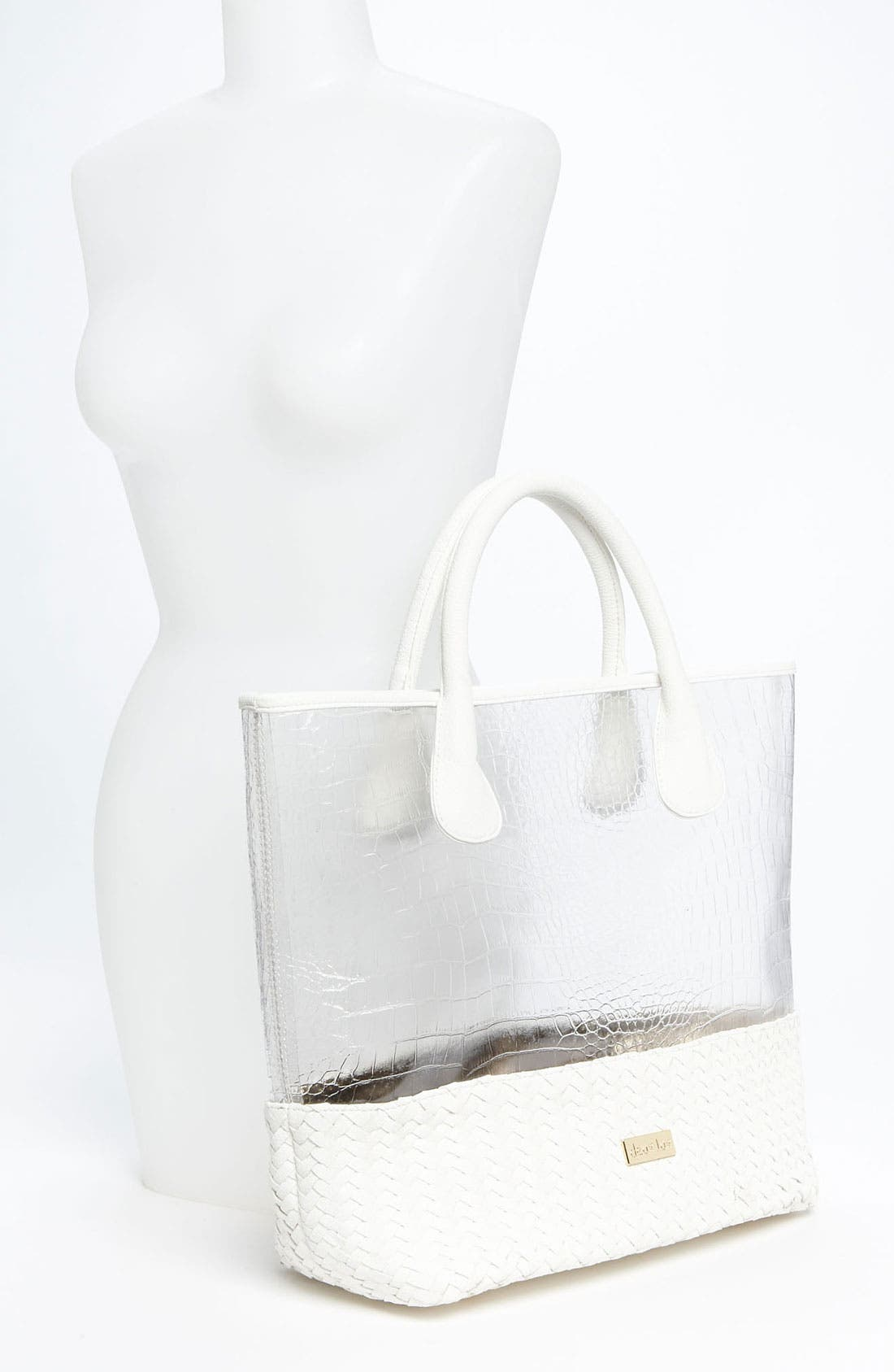 Alternate Image 2  - Deux Lux 'Mykonos' Clear Tote