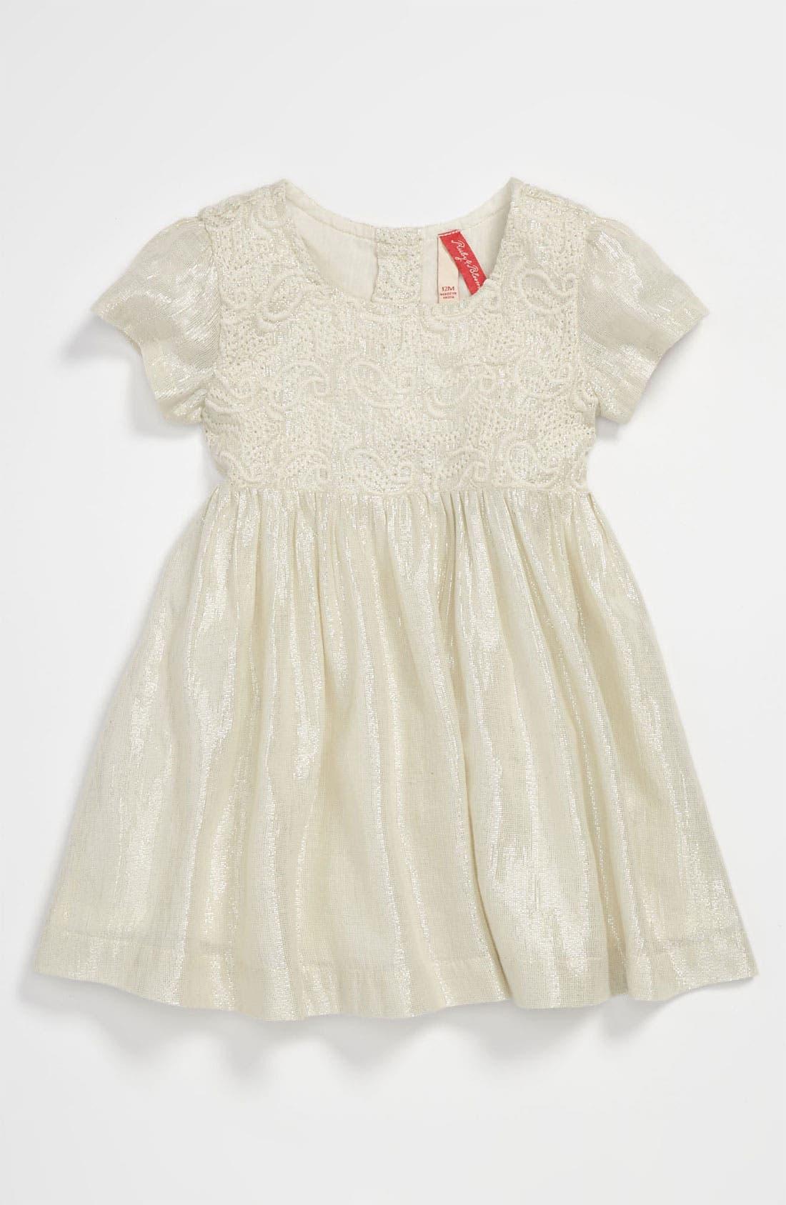 Alternate Image 1 Selected - Ruby & Bloom 'Giselle' Dress (Infant)